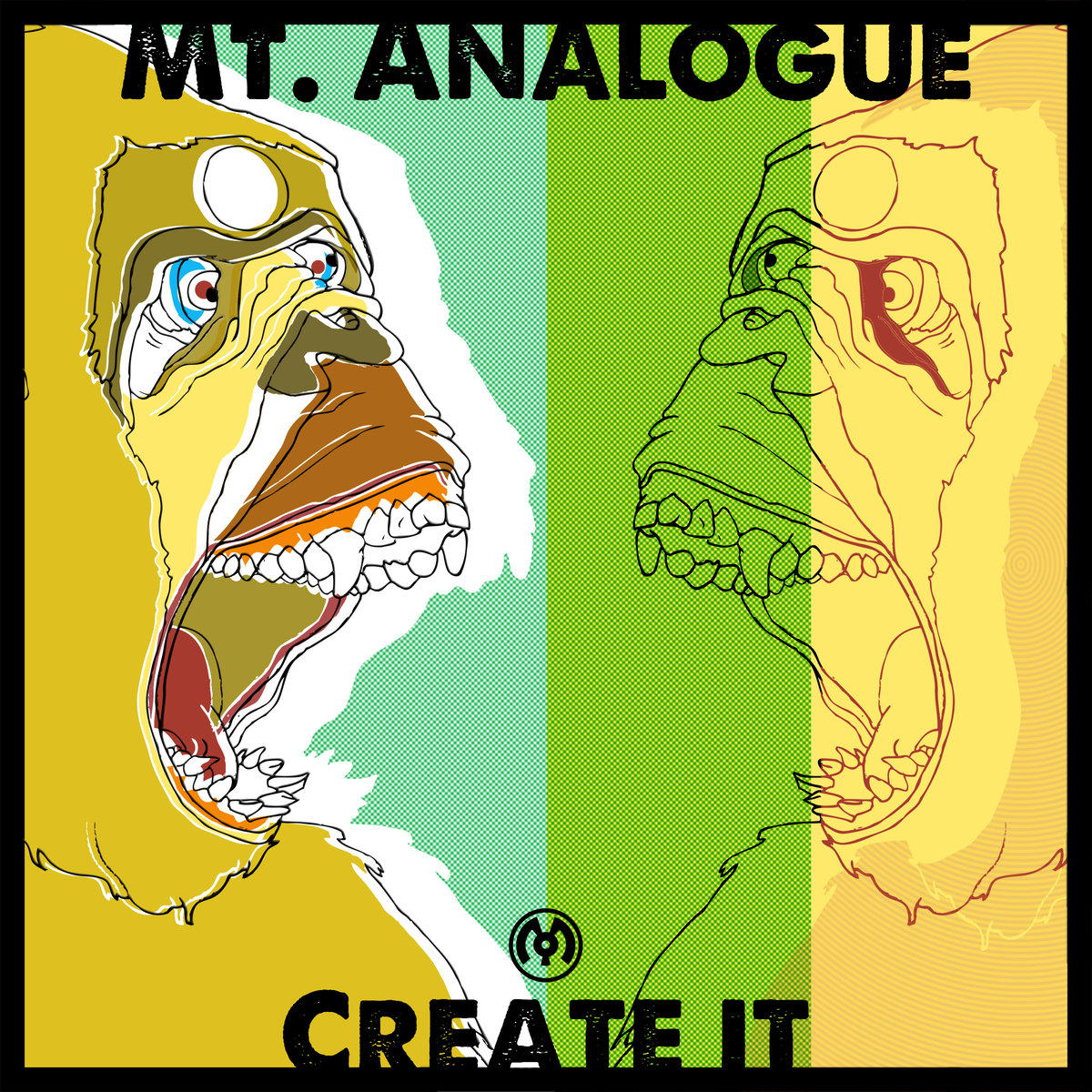 Mt. Analogue - Fine Print @ 'Create It' album (electronic, dubstep)