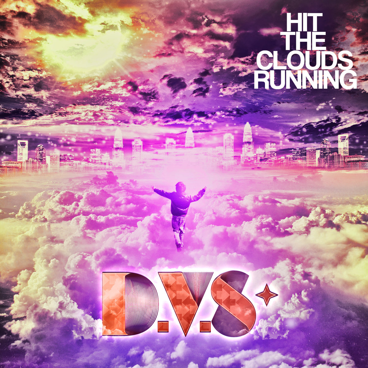 D.V.S* - Peppermint Sky @ 'Hit The Clouds Running' album (electronica, guitar)
