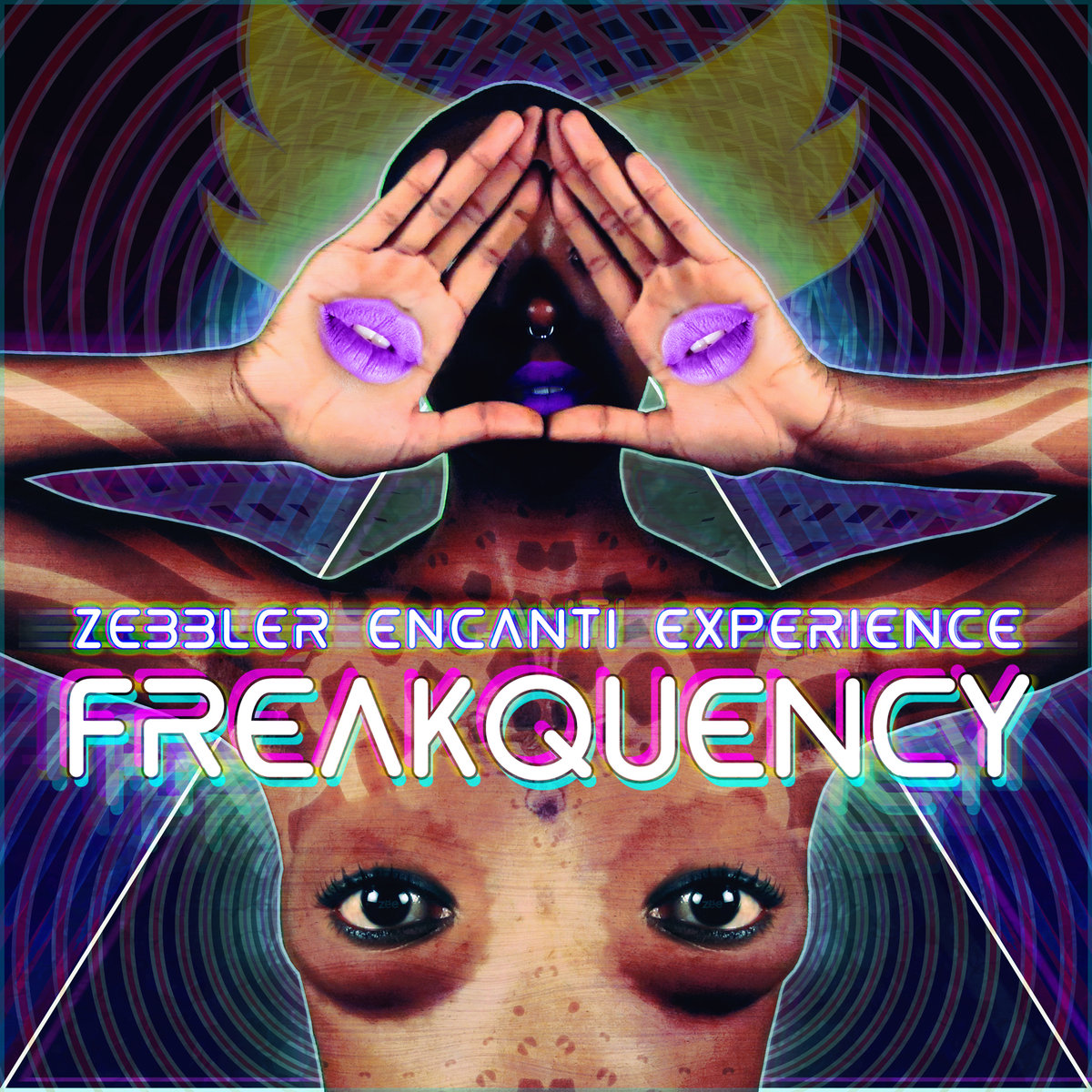 Zebbler Encanti Experience - Follow The Bubbles @ 'Freakquency' album (boston, psychedelic)