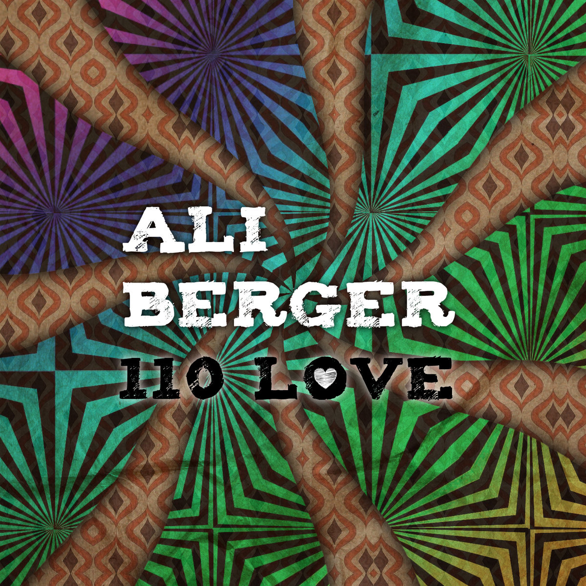 Ali Berger - Freeze-Dried Cellophane @ '110 Love' album (bass, electronic)