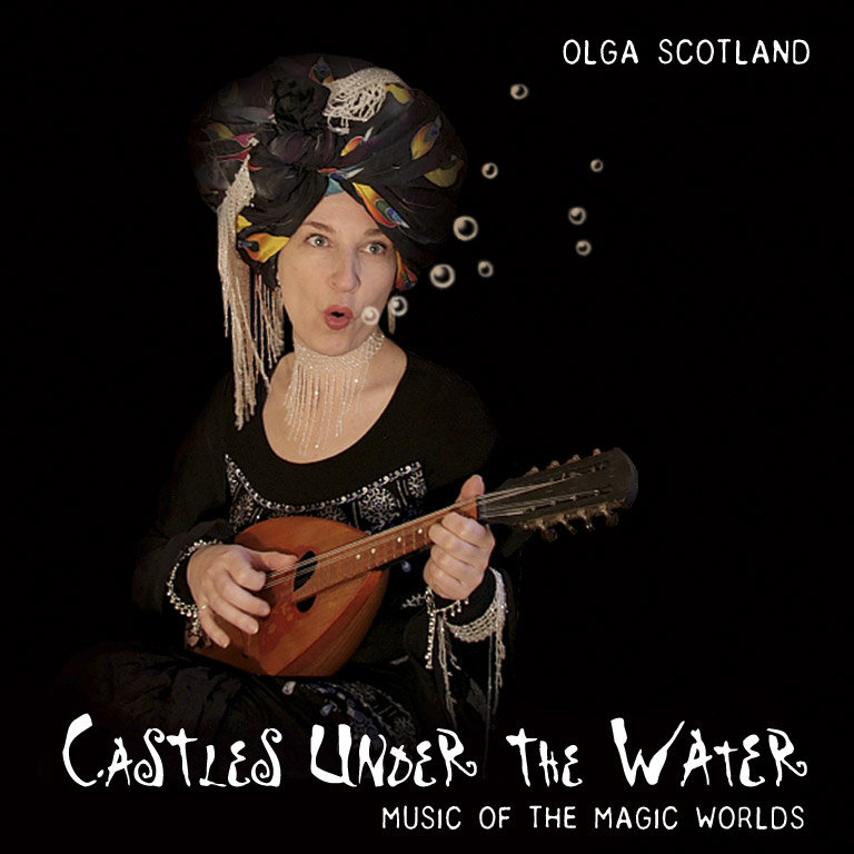 Olga Scotland - Girl With A Horn @ 'Castles Under The Water' album (soundtrack, ambient)