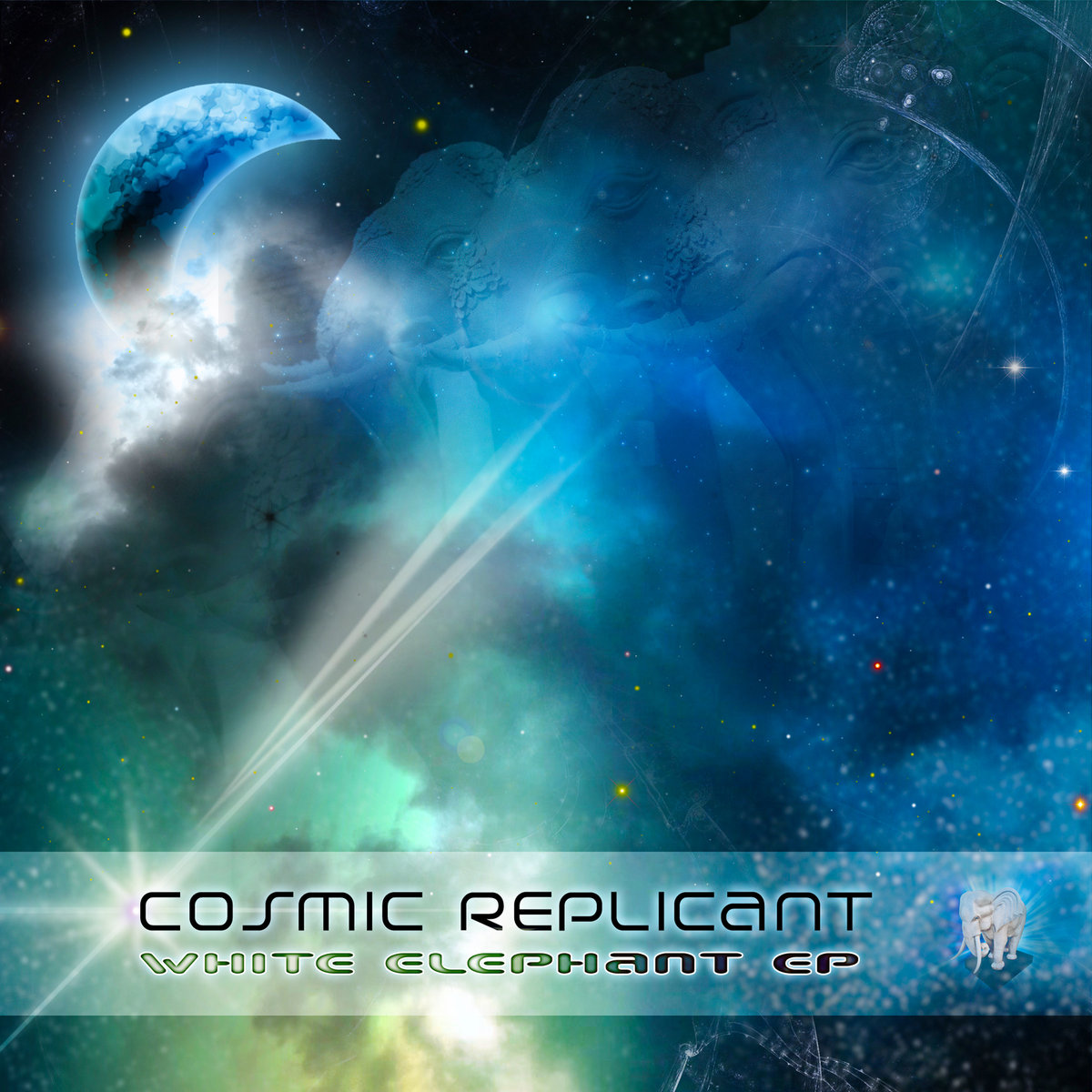Cosmic Replicant - Sense of Life @ 'White Elephant EP' album (cosmic replicant, cosmic replicant free music)