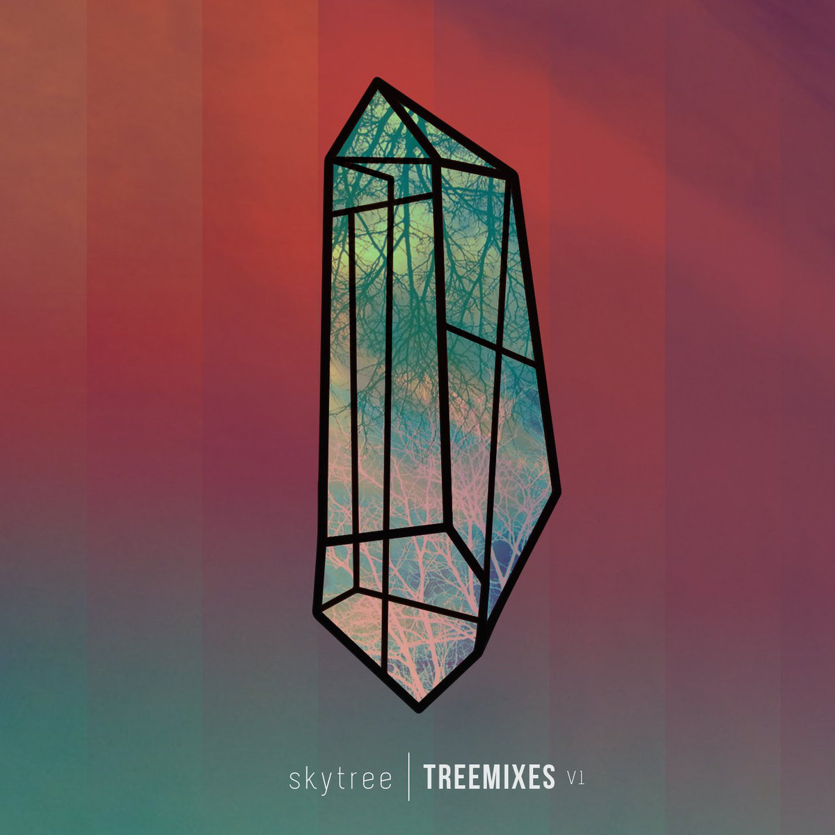Skytree - Quartz Resonance (Space Jesus remix) @ 'Treemixes V1' album (Austin)