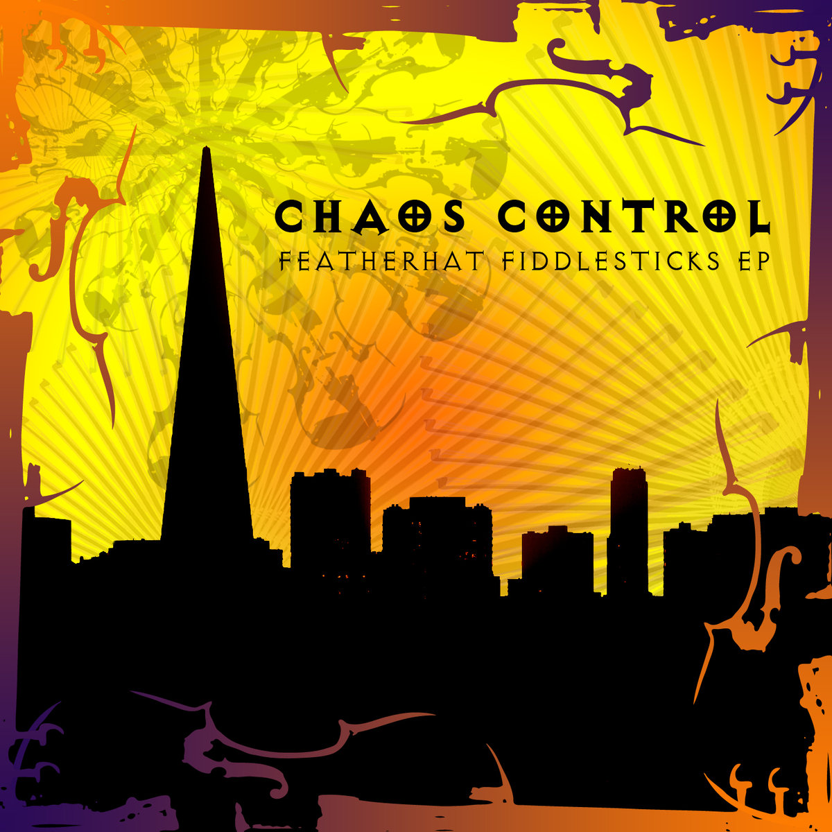 Chaos Control feat. DJ Swamp - Stardate Scratch @ 'Featherhat Fiddlesticks' album (bass, chaos control)
