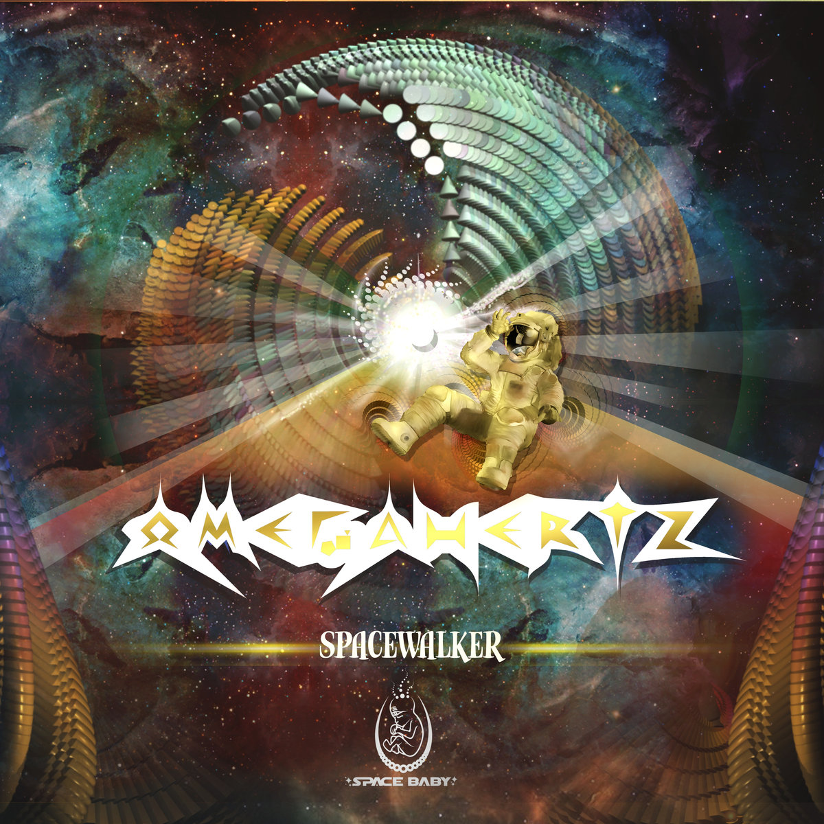 OmegaHertz - Spacewalker @ 'Spacewalker' album (ambient, electronic)