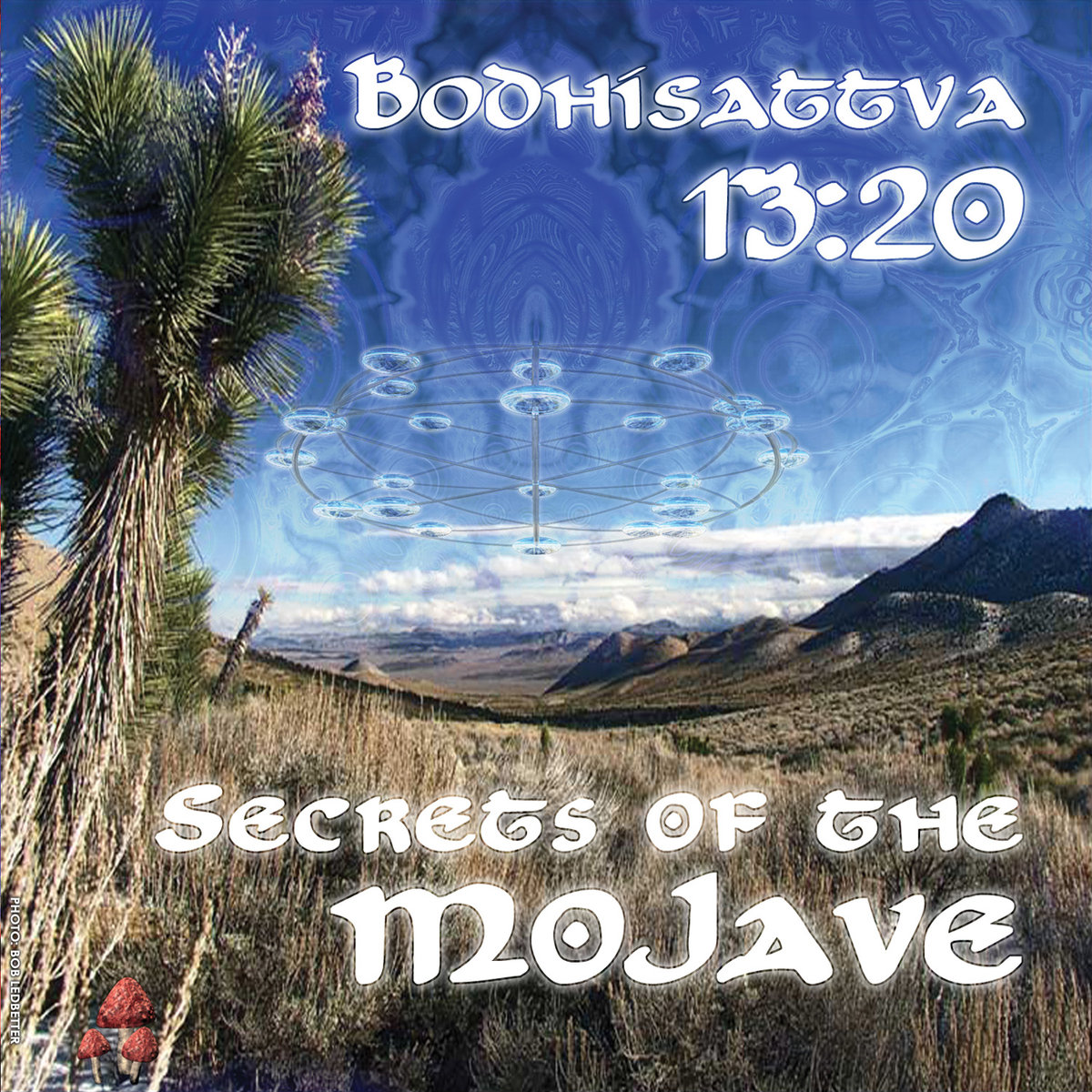 Bodhisattva 13:20 - Gravitron Deflector @ 'Secrets of the Mojave' album (electronic, goa)