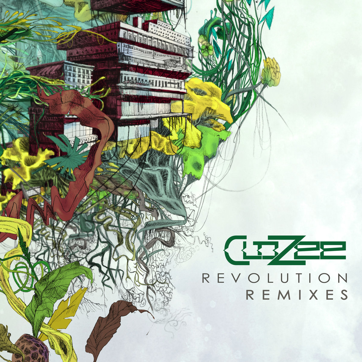 CloZee - Revolution (Flashball13 & Messkla Remix) @ 'Revolution Remixes' album (chill, downtempo)