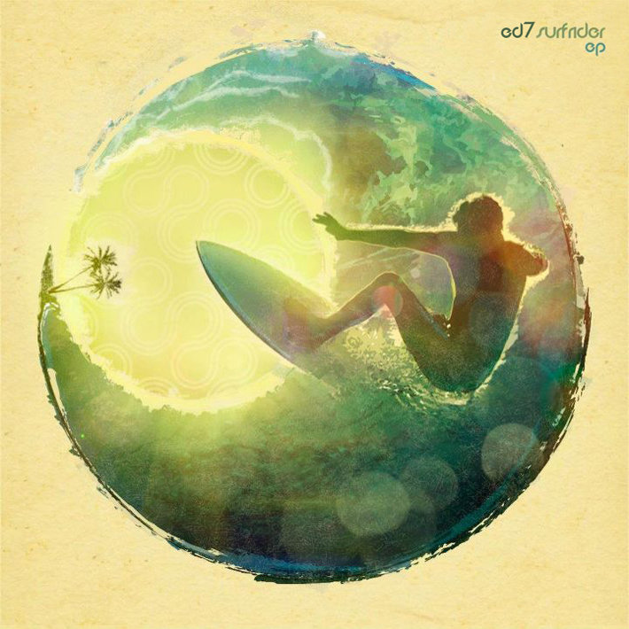 ED7 - Airplane @ 'Surfrider EP' album (electronic, athmospheric)