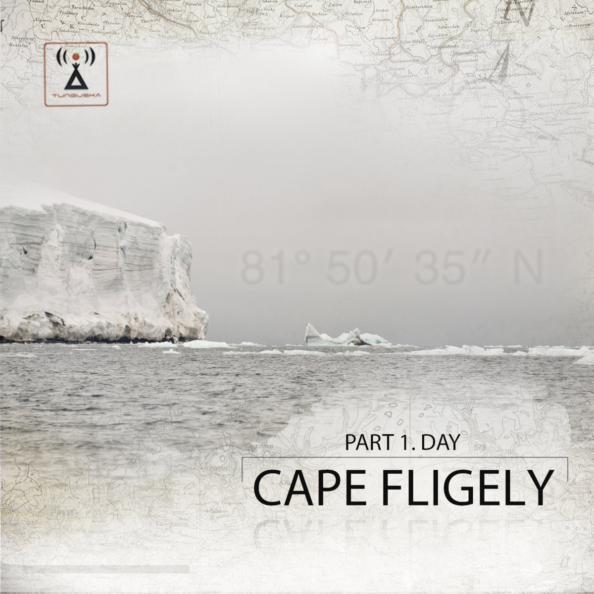 Paul Minesweeper - Frost Flower @ 'Point - Cape Fligely. Part 1. Day' album (electronic, ambient)
