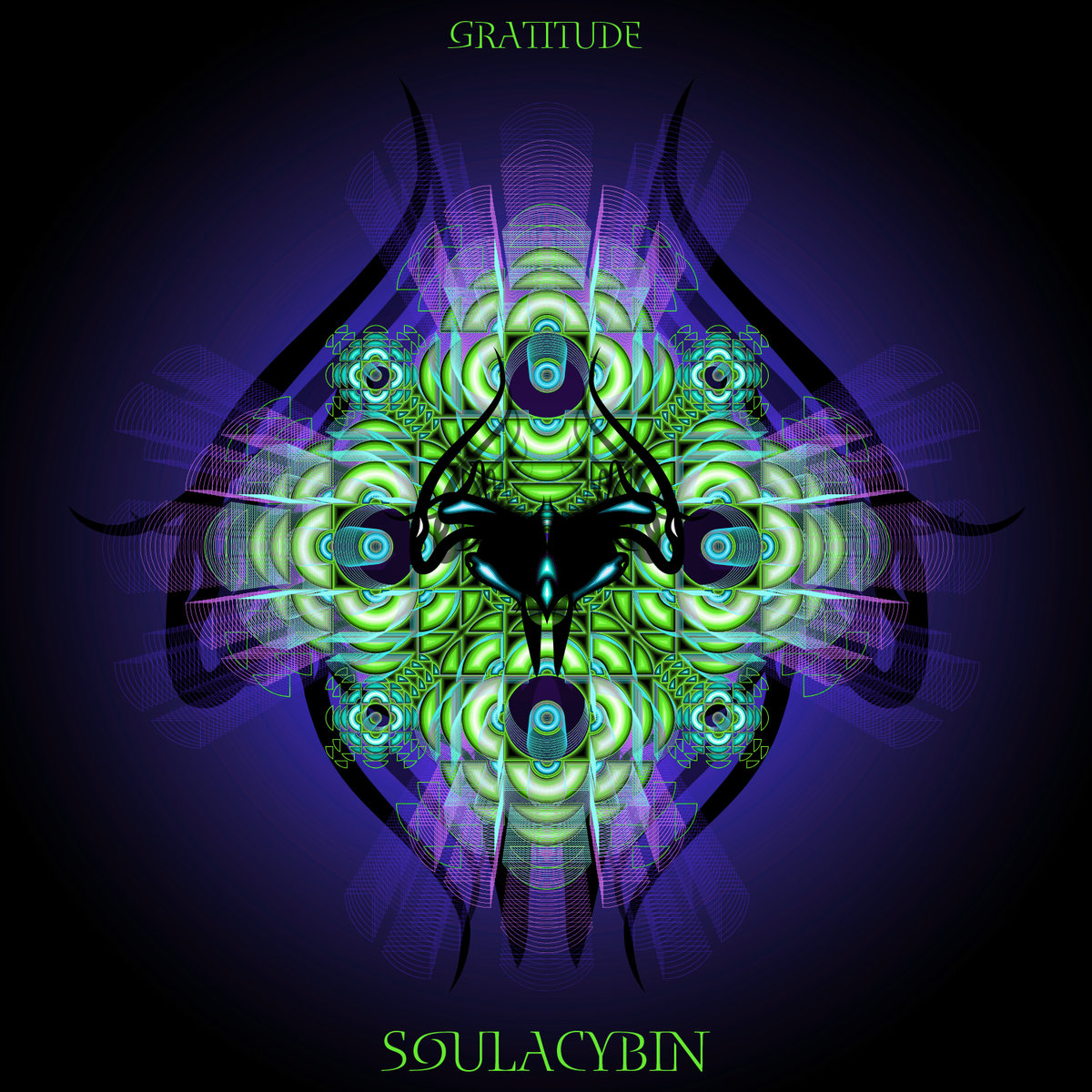 Soulacybin feat. Alaya Love - The Activation Part 1 @ 'Gratitude' album (electronic, ambient)
