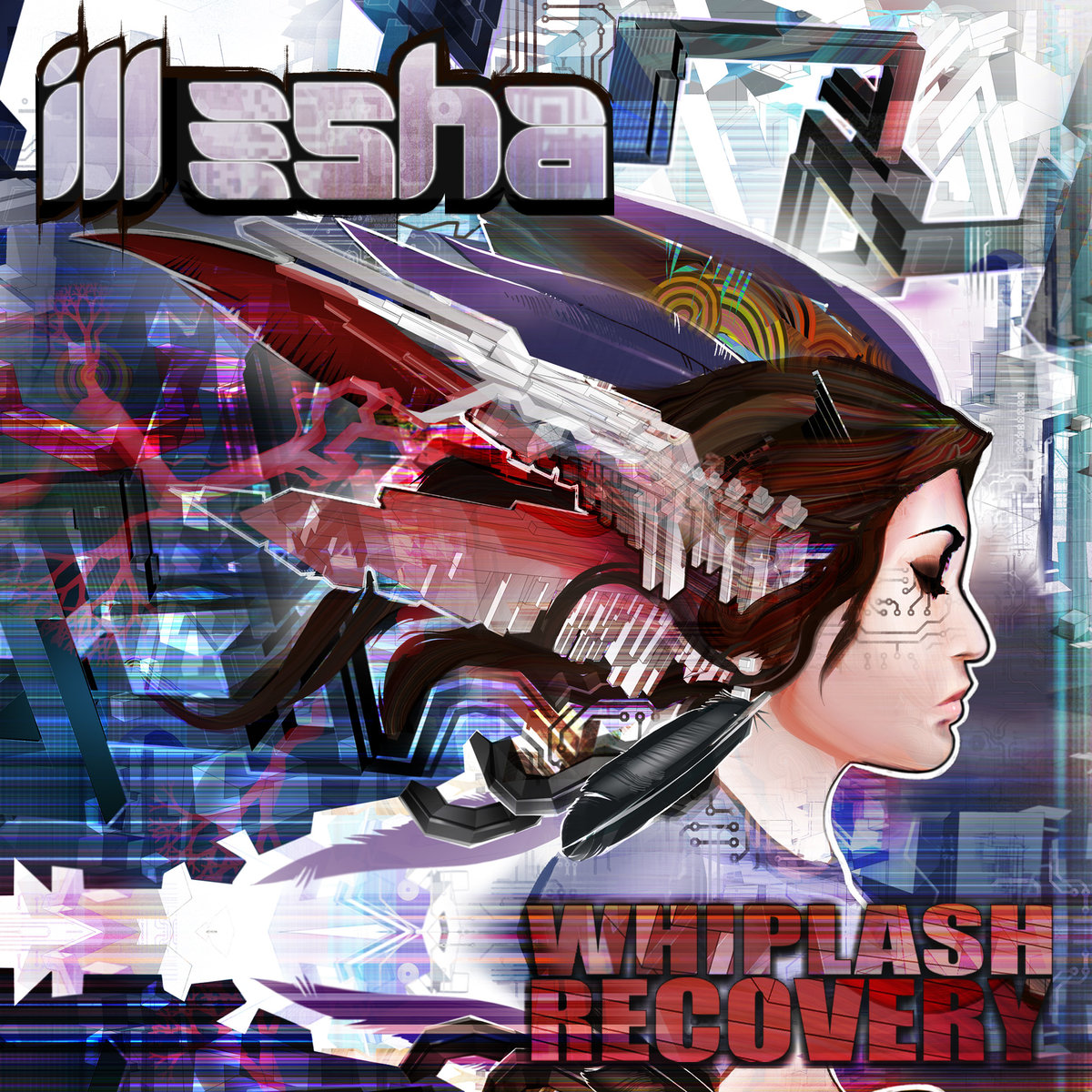 ill-esha - Whiplash Recovery (The Digital Connection Remix) @ 'Whiplash Recovery' album (california, denver)