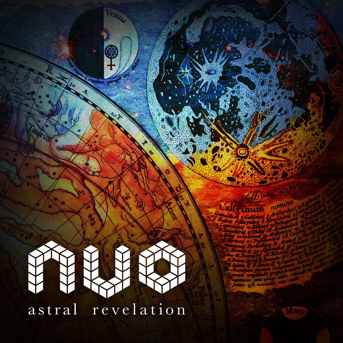 NVO - Astral Revelation (Deep Remix) @ 'Astral Revelation' album (deep house, electro house)