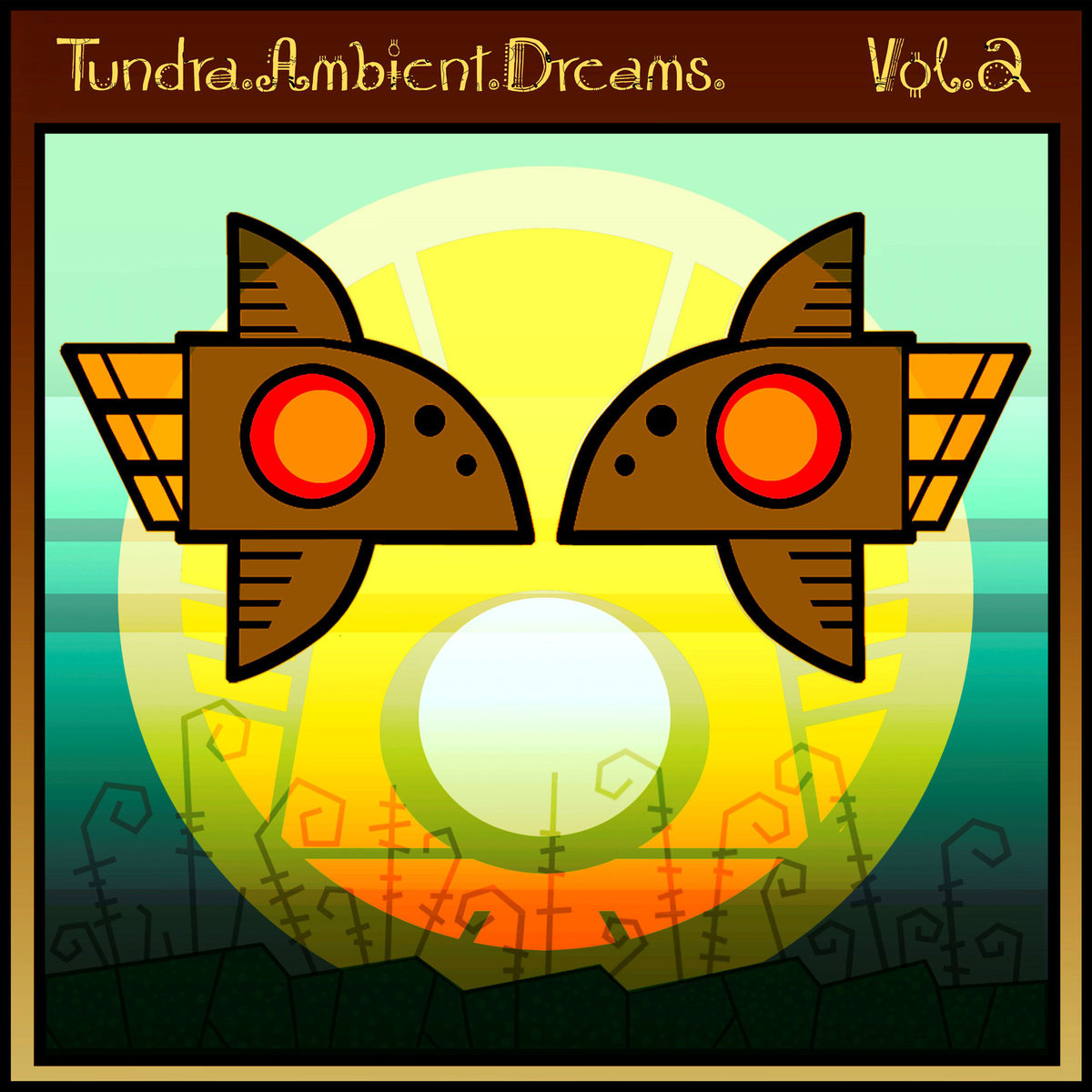 Flying Hills - Place #5 @ 'Ellipsis II - Tundra.Ambient.Dreams. Vol.2' album (electronic, ambient)
