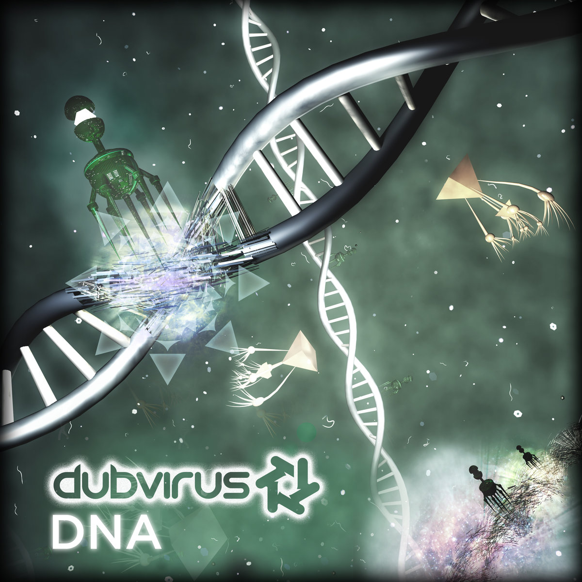 Dubvirus - Bridging the Gap @ 'DNA' album (bass, dubstep)
