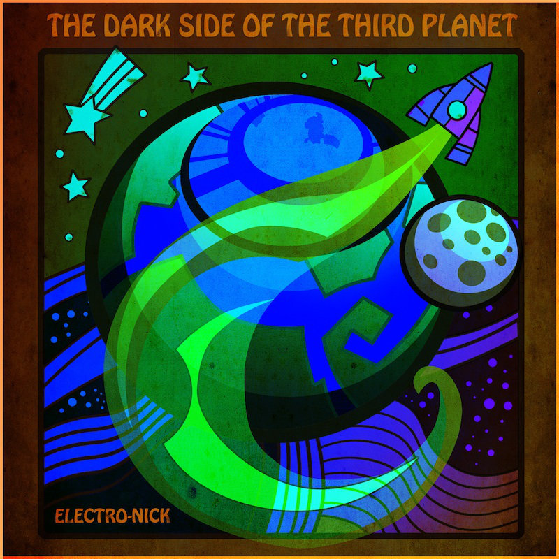 Electro-Nick - Nightmare @ 'Electro-Nick - The Dark Side Of The Third Planet' album (electronic, ambient)