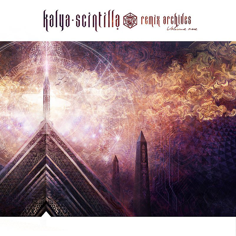 Temple Step Project - Distant Temple (Kalya Scintilla Remix) @ 'The Remix Archives - Vol. 1' album (electronic, ambient)