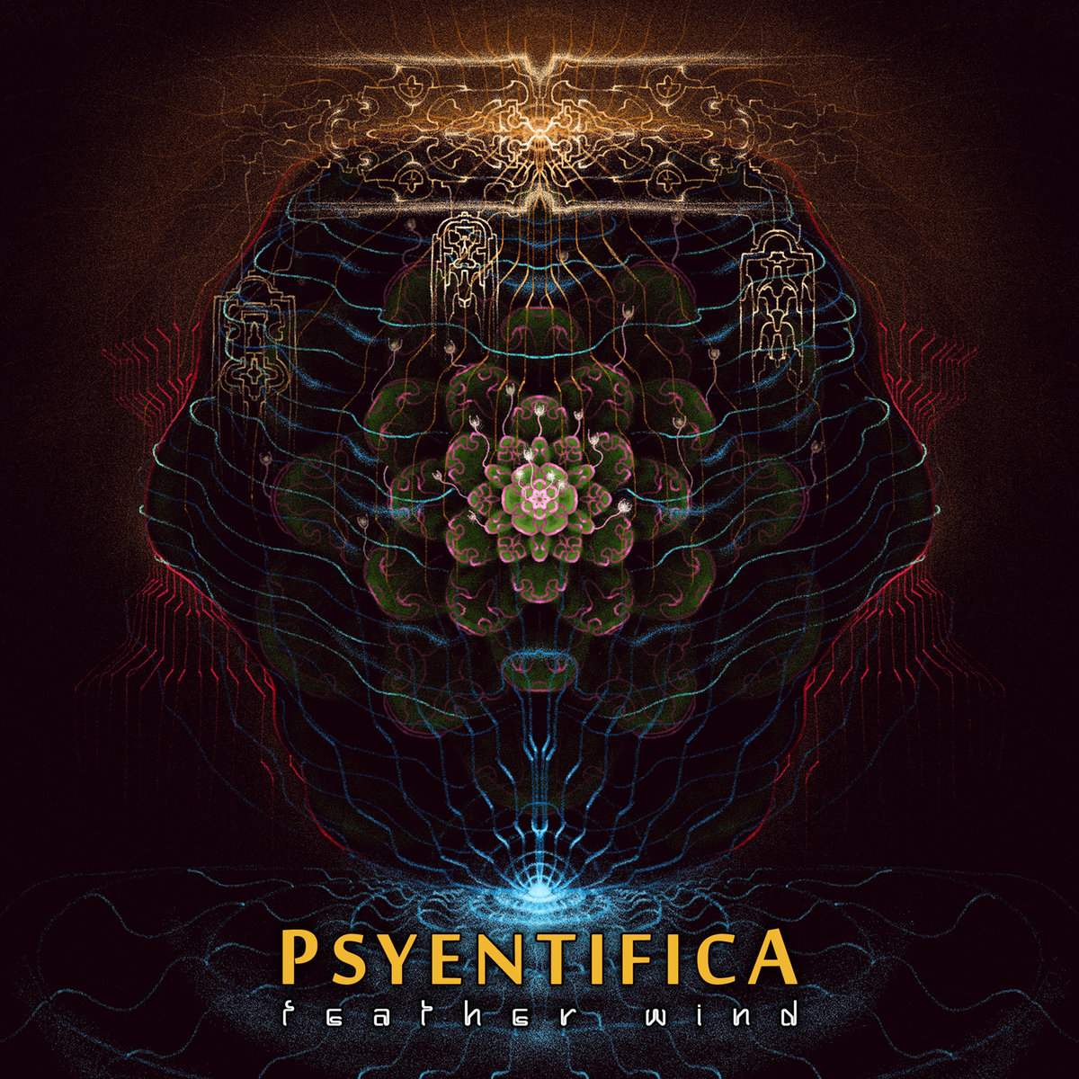 Psyentifica - Archaik Winds @ 'Feather Wind' album (canada, chillout)