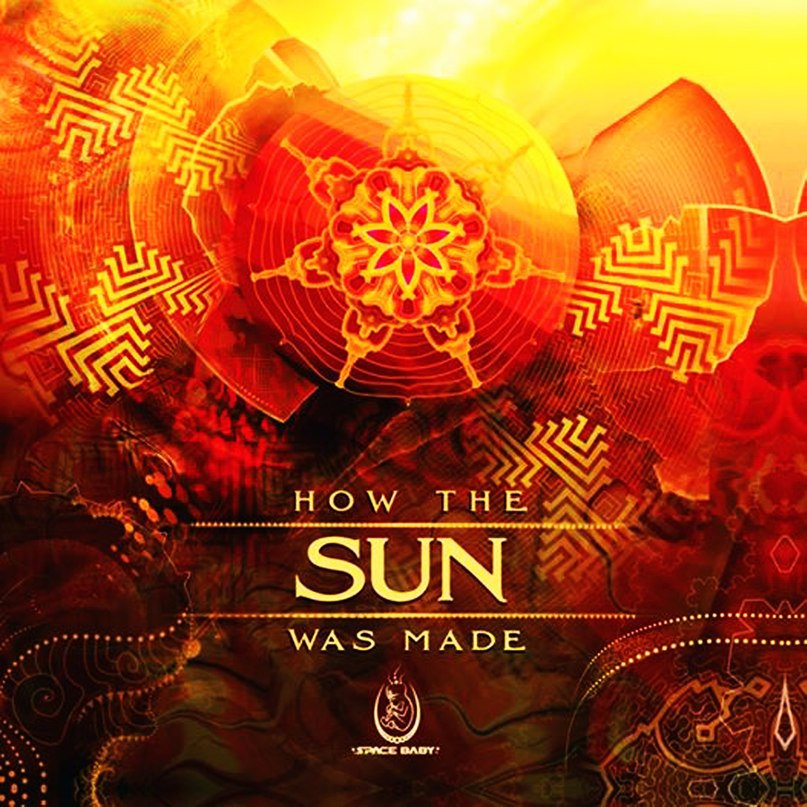 Manju - Earth Pulse @ 'Various Artists - How the Sun Was Made' album (ambient, electronic)