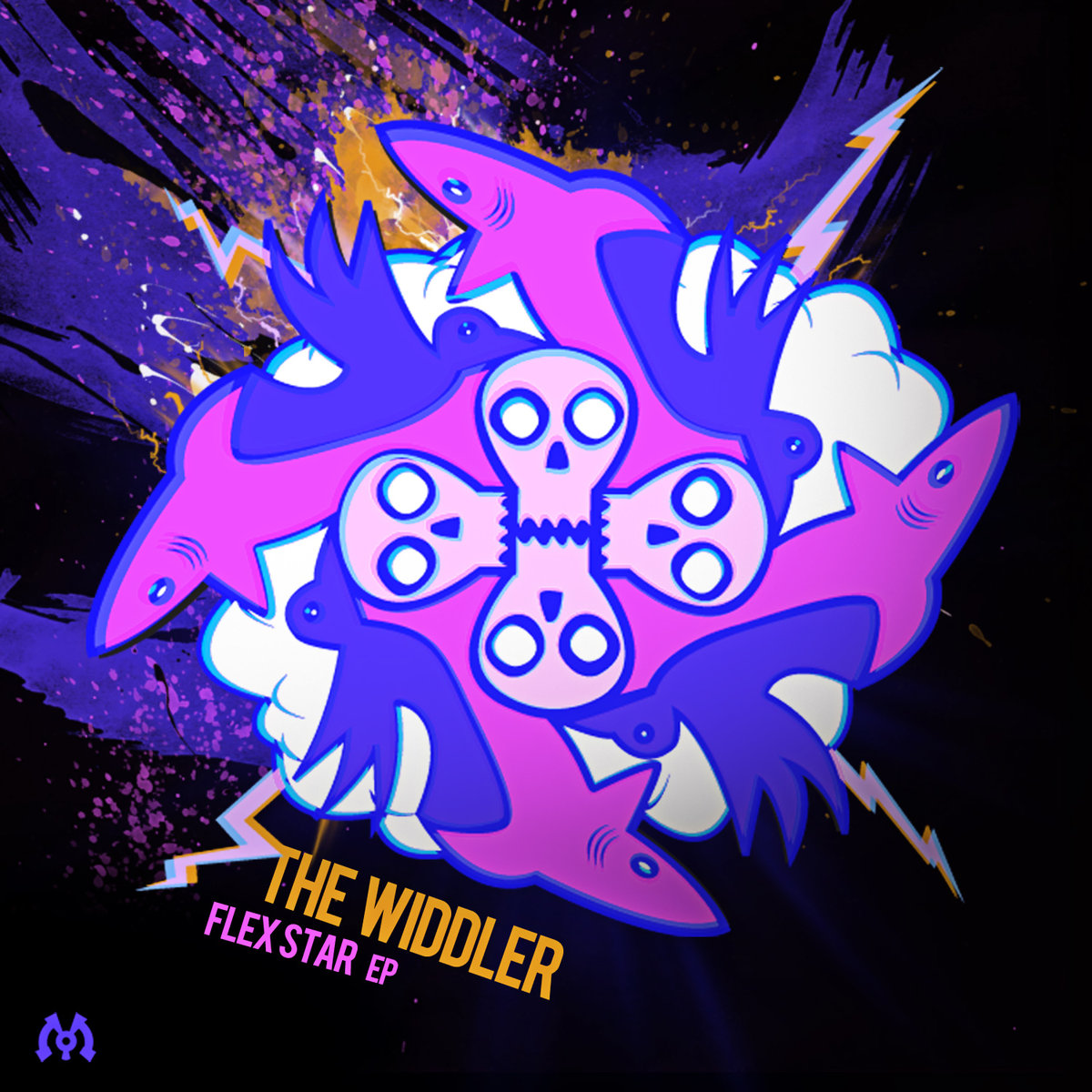 The Widdler - Flexstar (Fresh Young Minds & Bukkha Remix) @ 'Flexstar' album (electronic, dubstep)