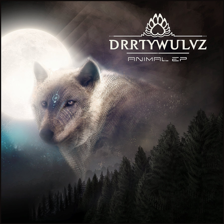 DRRTYWULVZ - Dub Visions @ 'Animal EP' album (432hz, electronic)