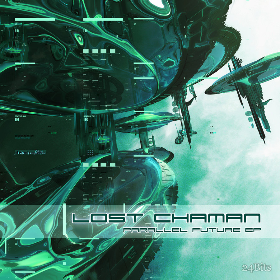 Lost Chaman - Earth's Sister @ 'Parallel Future EP' album (electronic, ambient)