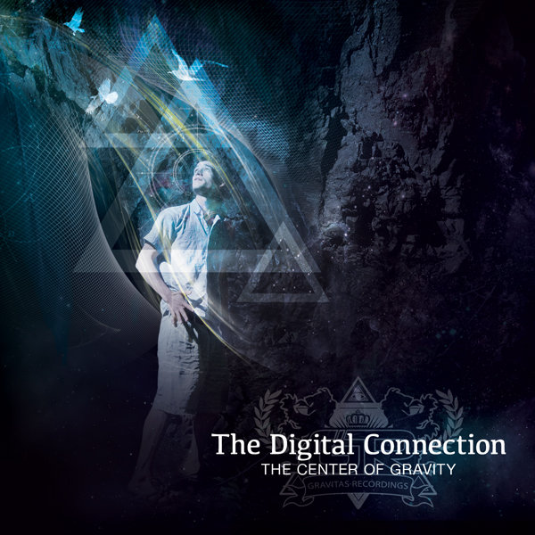 The Digital Connection - On A Brighter Note (GoldRush Deep Seamix) @ 'The Center of Gravity' album (chill, dubstep)