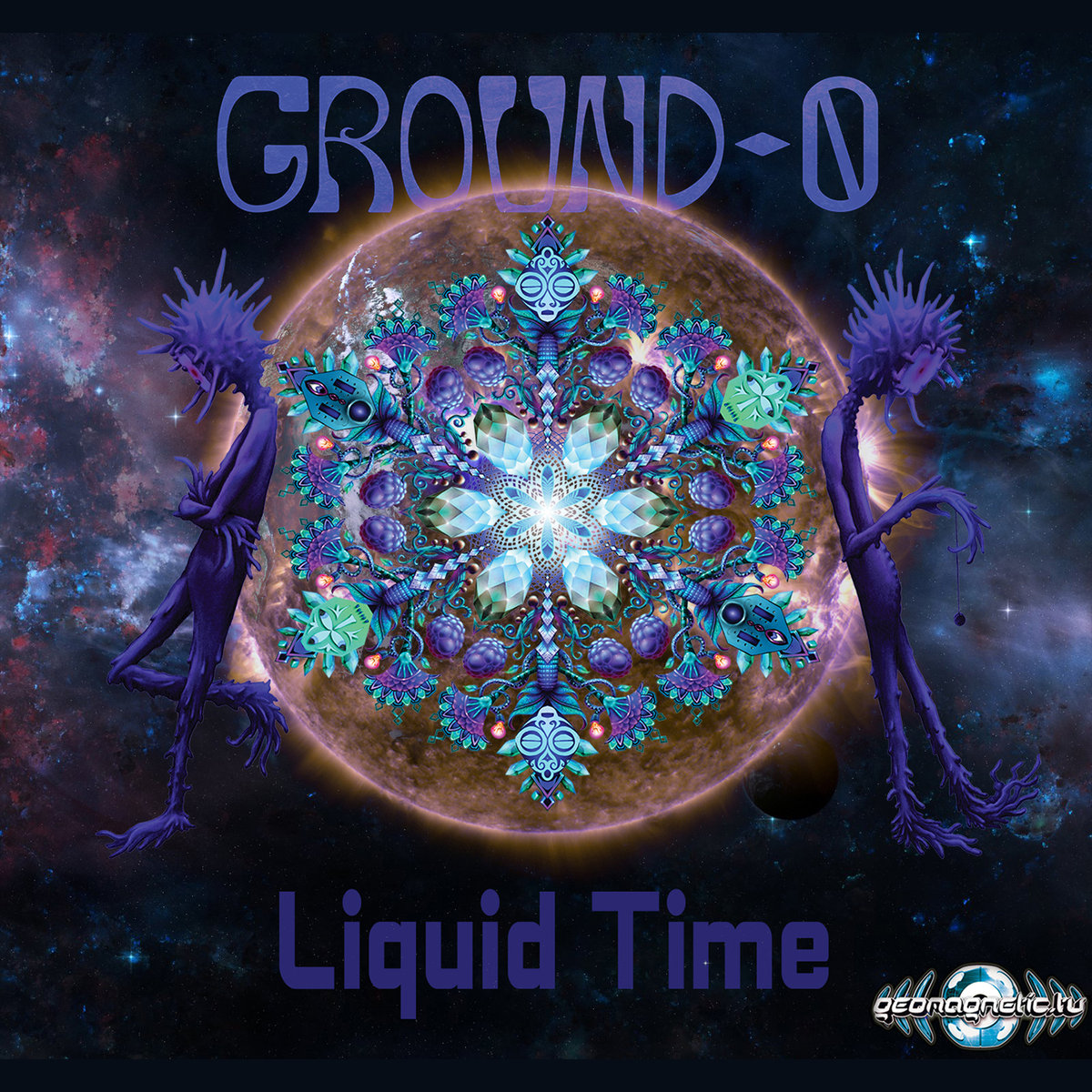 Ground 0 - Time Traveler @ 'Liquid Time' album (electronic, goa)