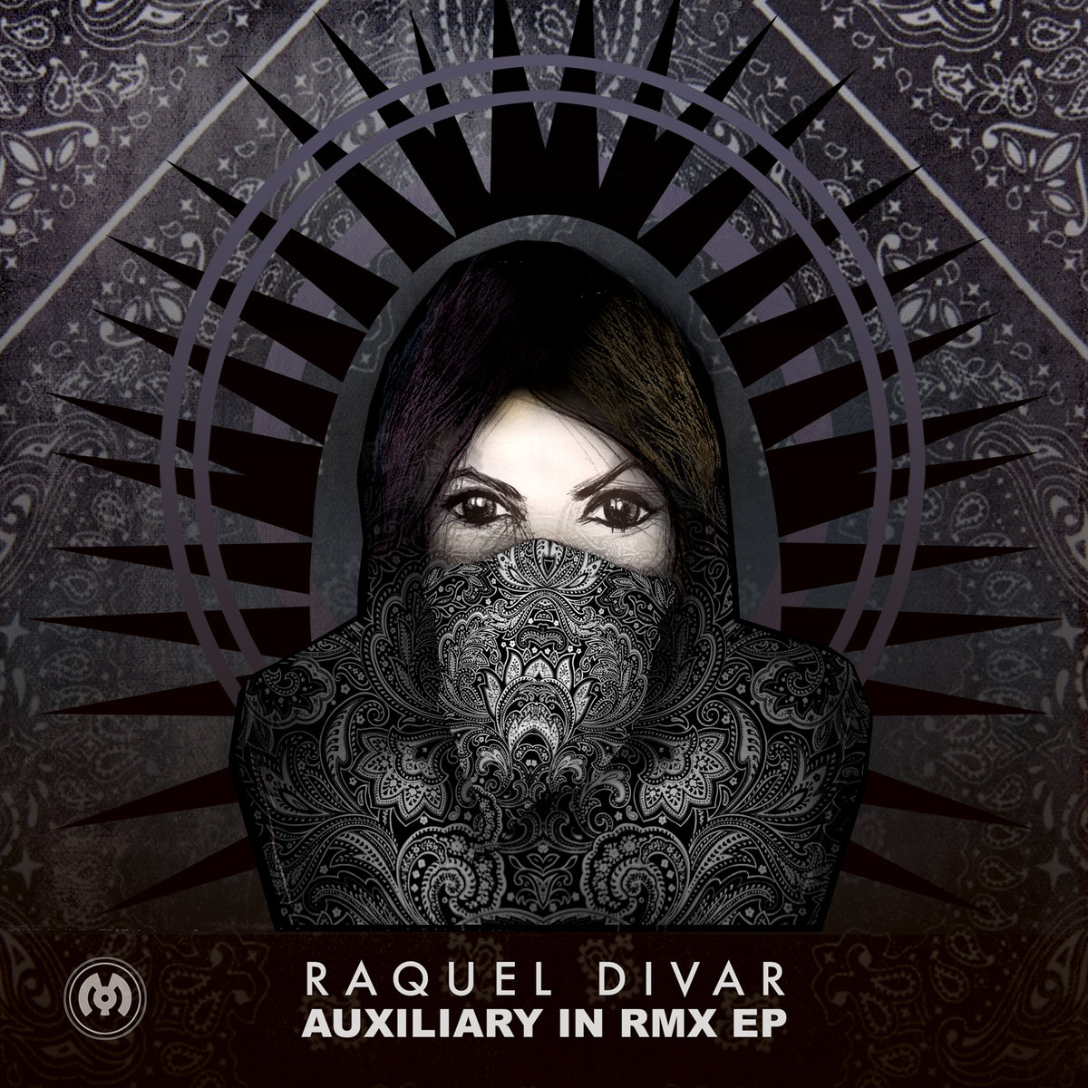 Raquel Divar - Auxilary In (VGNX Remix) @ 'Auxilary In Remix' album (electronic, dubstep)