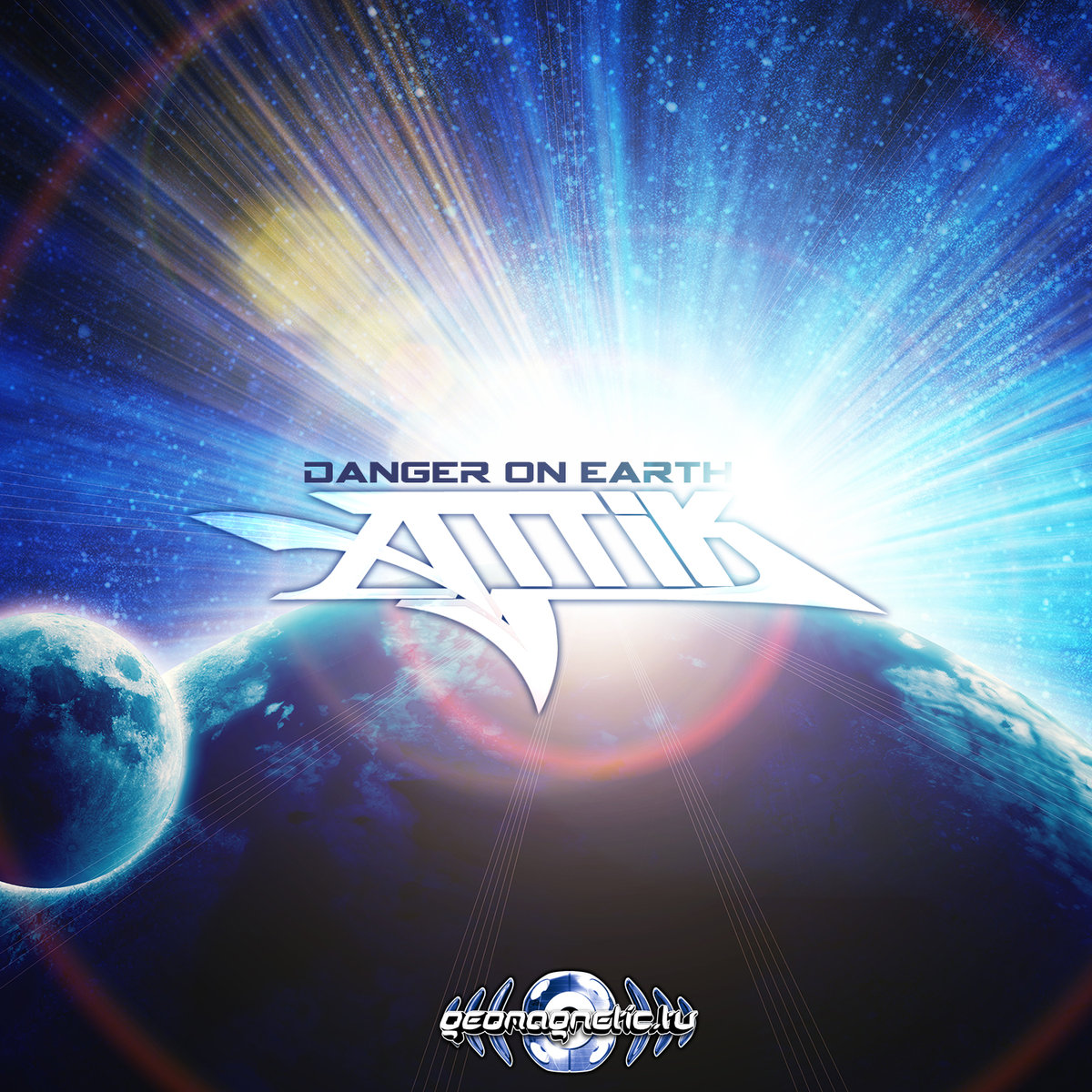Attik - Creaking Sonority @ 'Danger On Earth' album (electronic, goa)