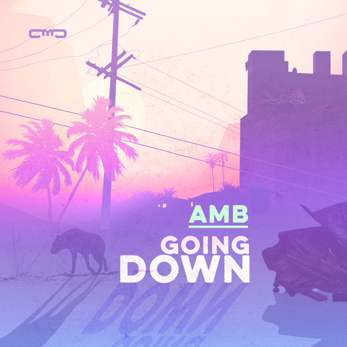 AMB - Night Slide (The Widdler Remix) @ 'Going Down' album (ambient, dark)