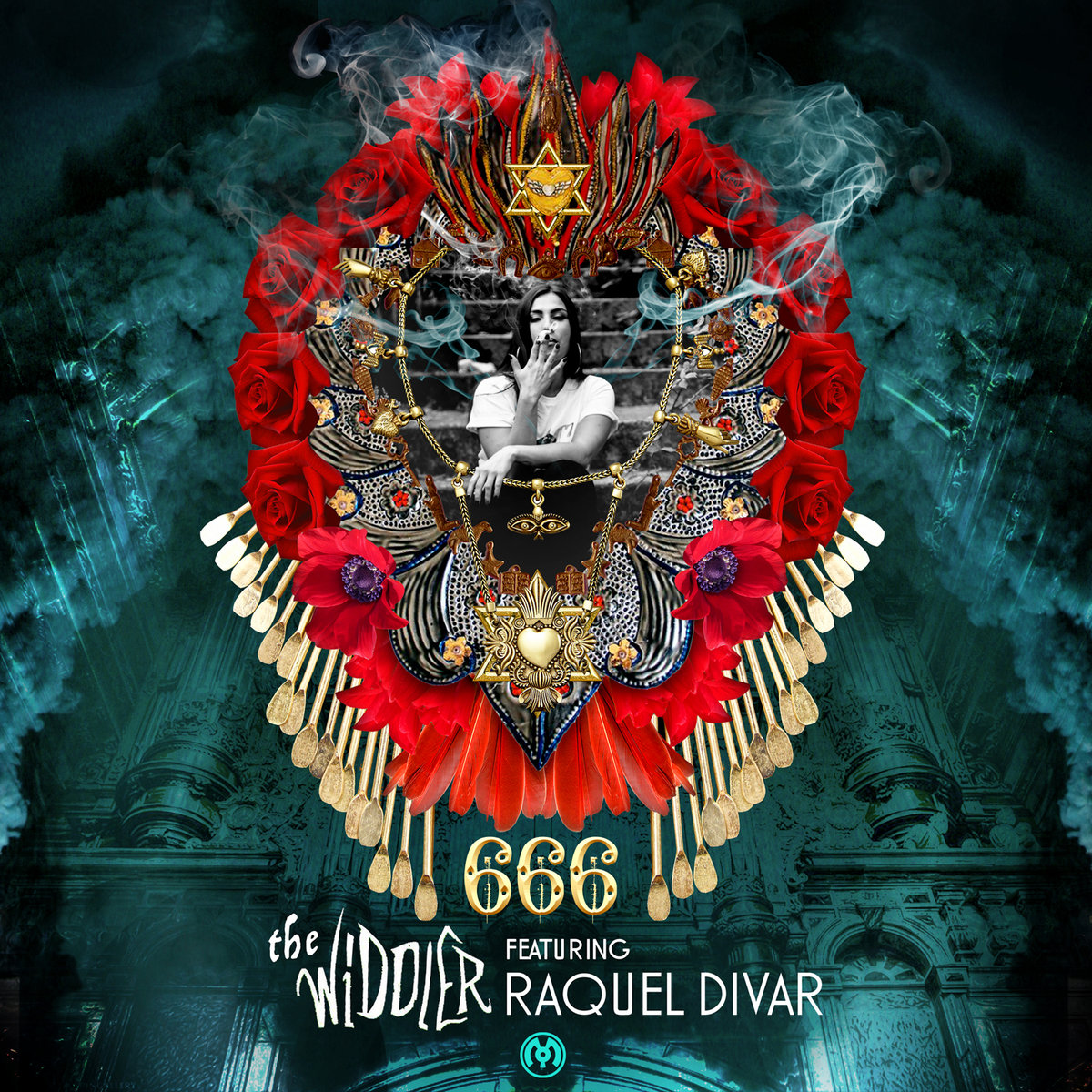 The Widdler & Raquel Divar - 666 @ '666' album (electronic, dubstep)
