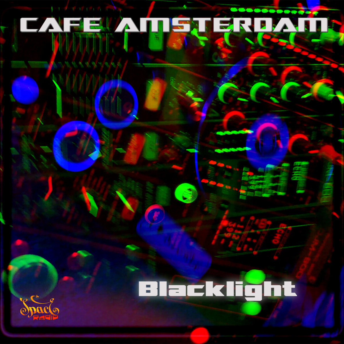 Cafe Amsterdam - Blacklight