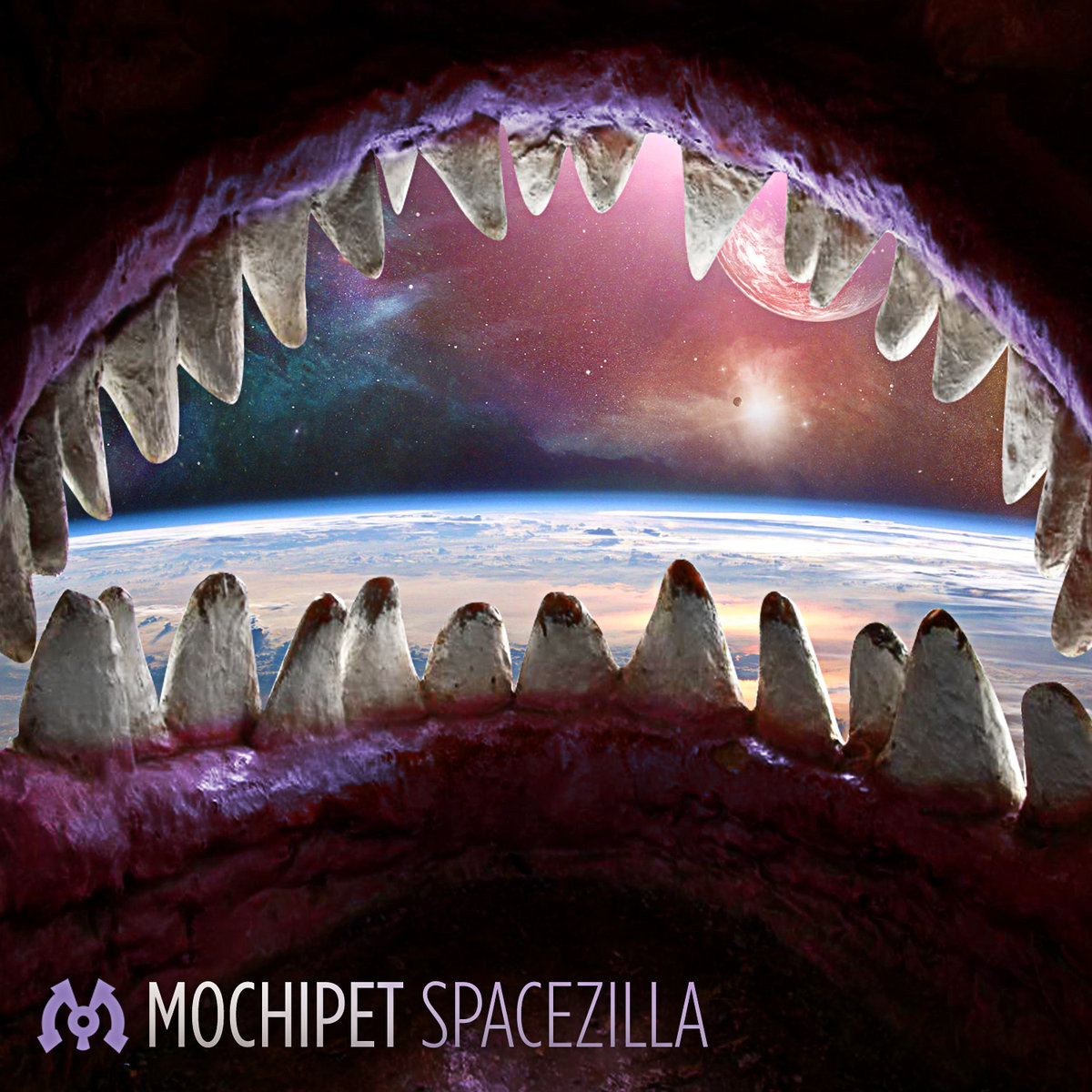 Mochipet - For When the World Ends @ 'Spacezilla' album (electronic, dubstep)