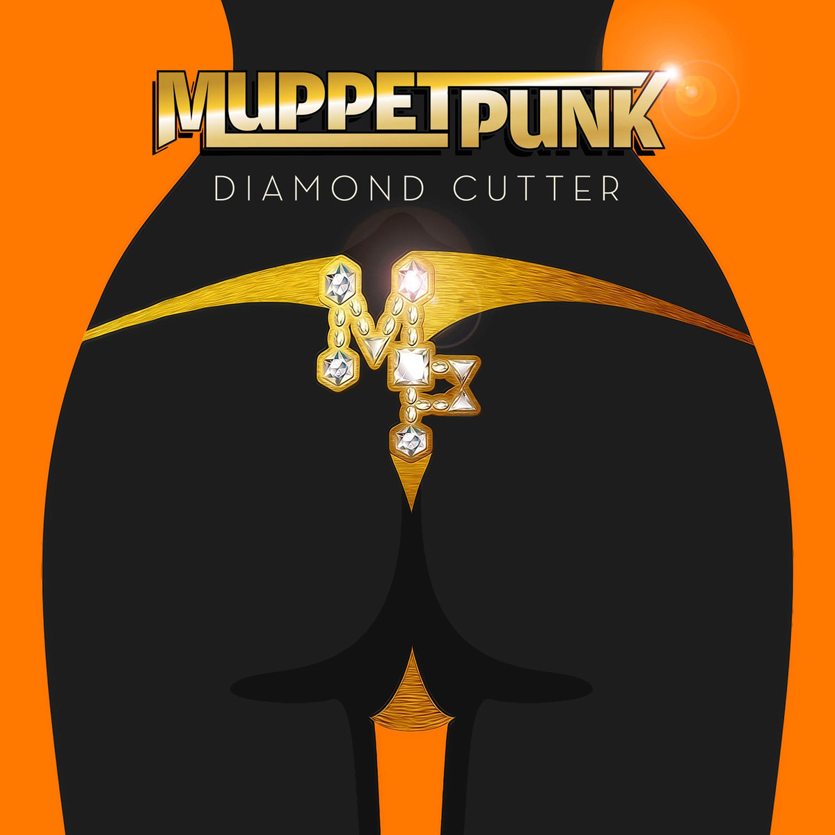 Muppet Punk - Twrk'n Upside Down @ 'Diamond Cutters' album (bass, devi genuone)