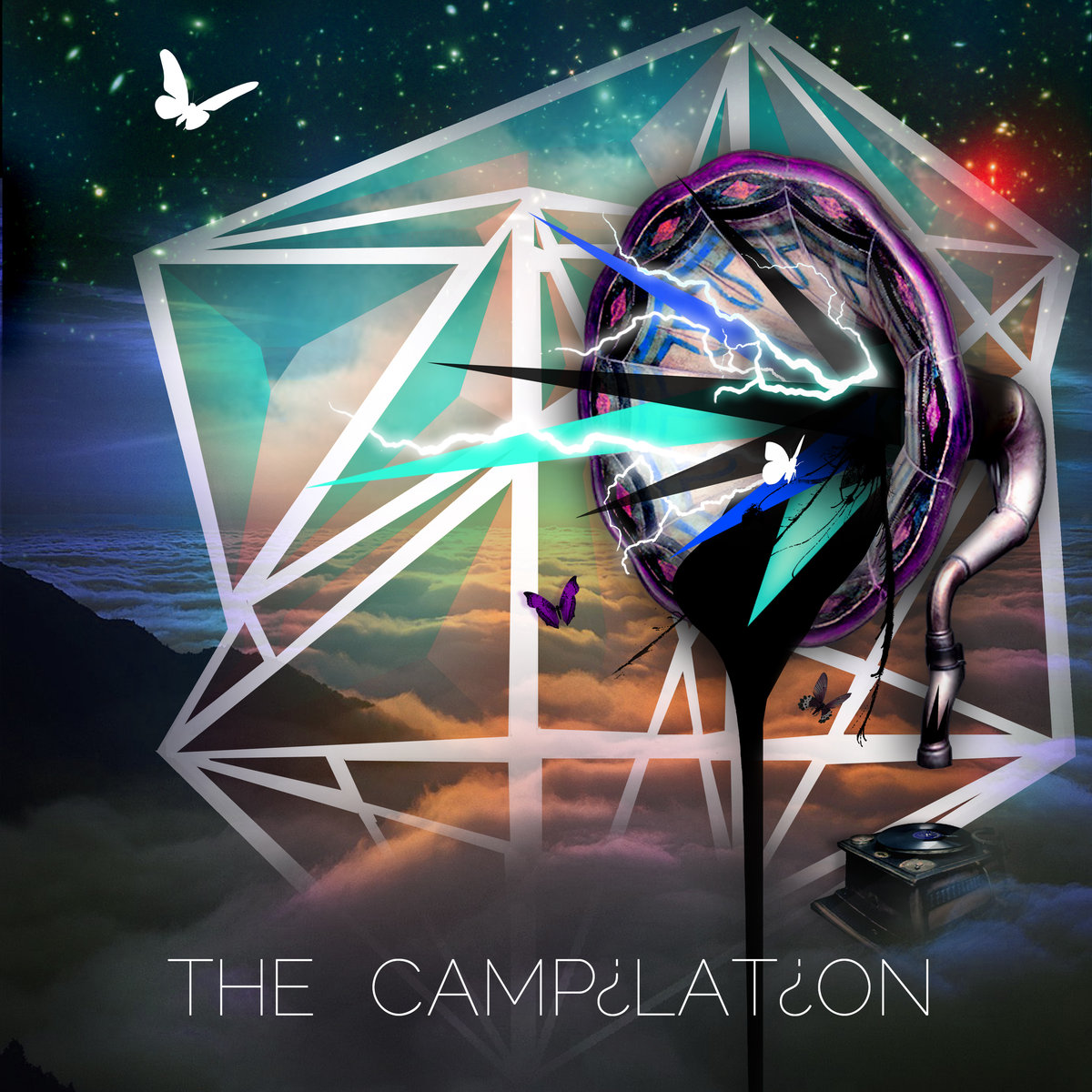 Taso & Trevor Kelly - Dopeman @ 'Various Artists - The Campilation' album (electronic, dubstep)