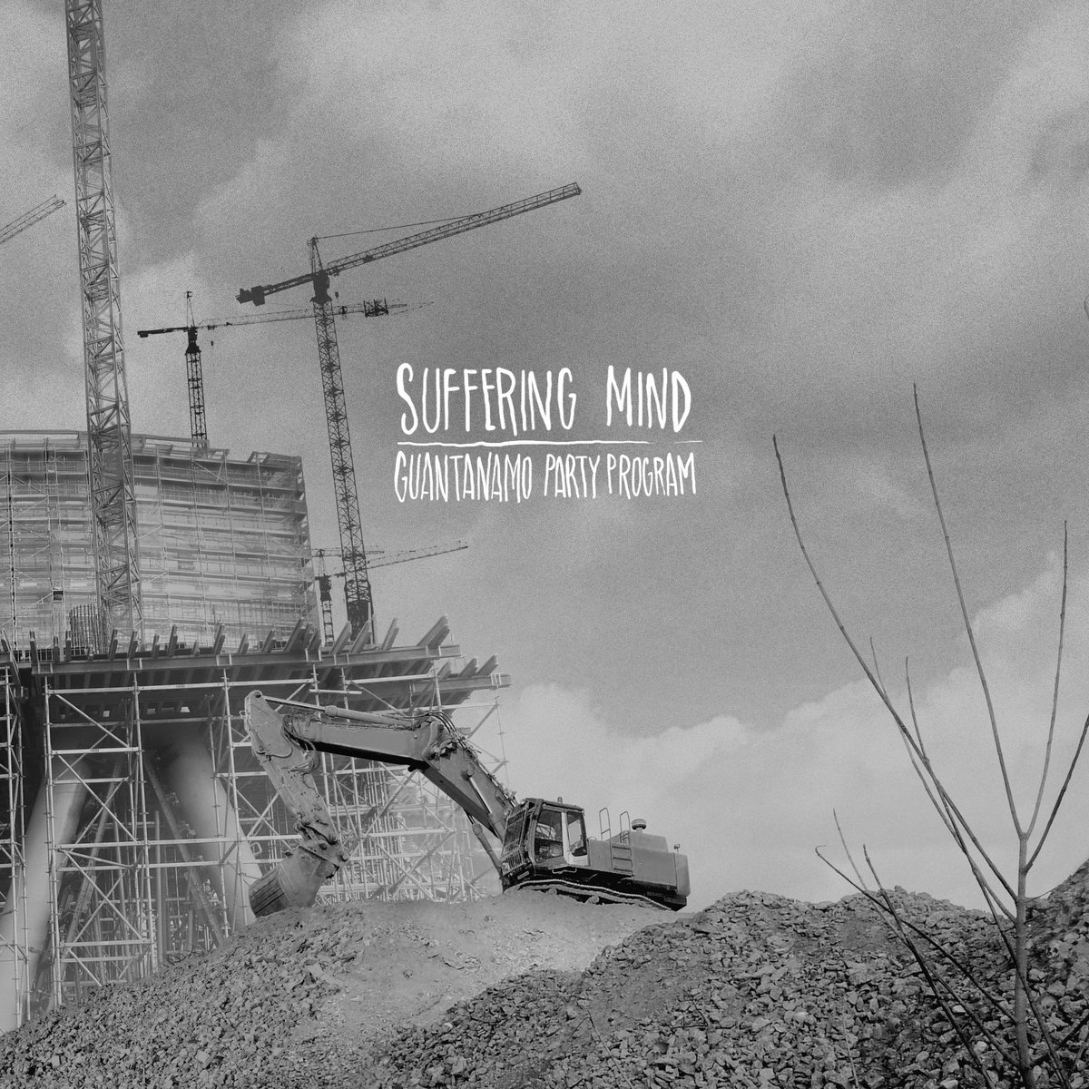 Suffering Mind & Guantanamo Party Program - Split (artwork)
