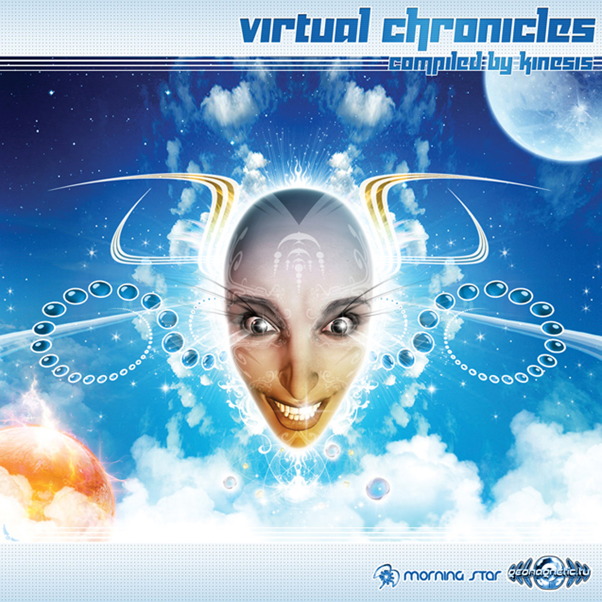 Crystal Network - Symbols Are A Language @ 'Various Artists - Virtual Chronicles (Compiled by Kinesis)' album (electronic, goa)