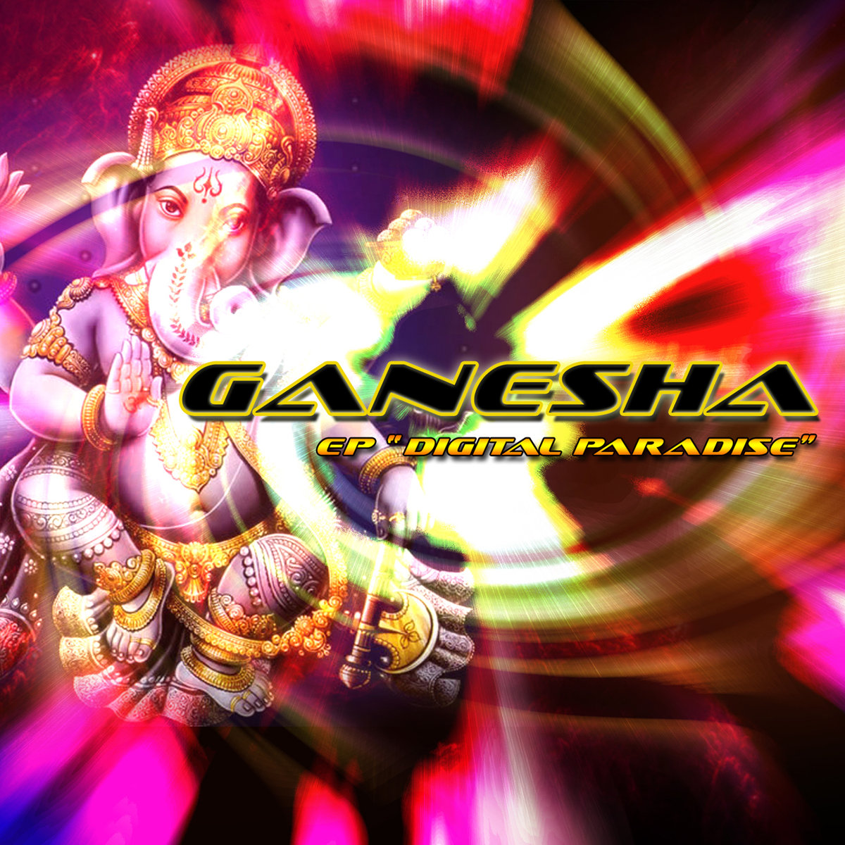 Ganesha - Space Love @ 'Digital Paradise' album (electronic, goa)