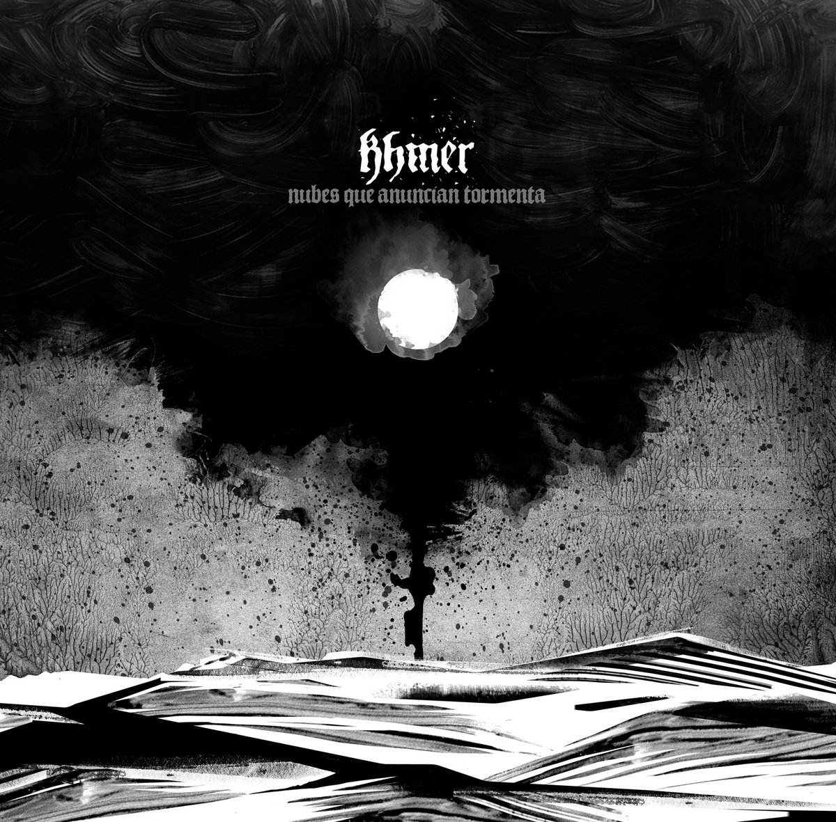 Khmer - Bajo La Cruz @ 'Nubes Que Anuncian Tormenta' album (metal, spain)