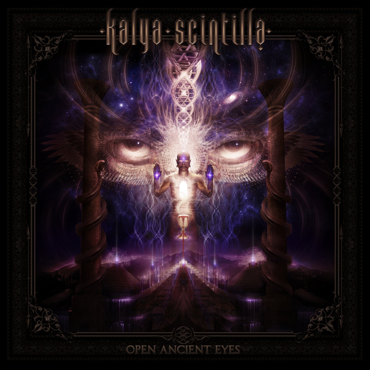 Kalya Scintilla - Open Ancient Eyes - Album Mix Journey @ 'Open Ancient Eyes' album (432hz, electronic)