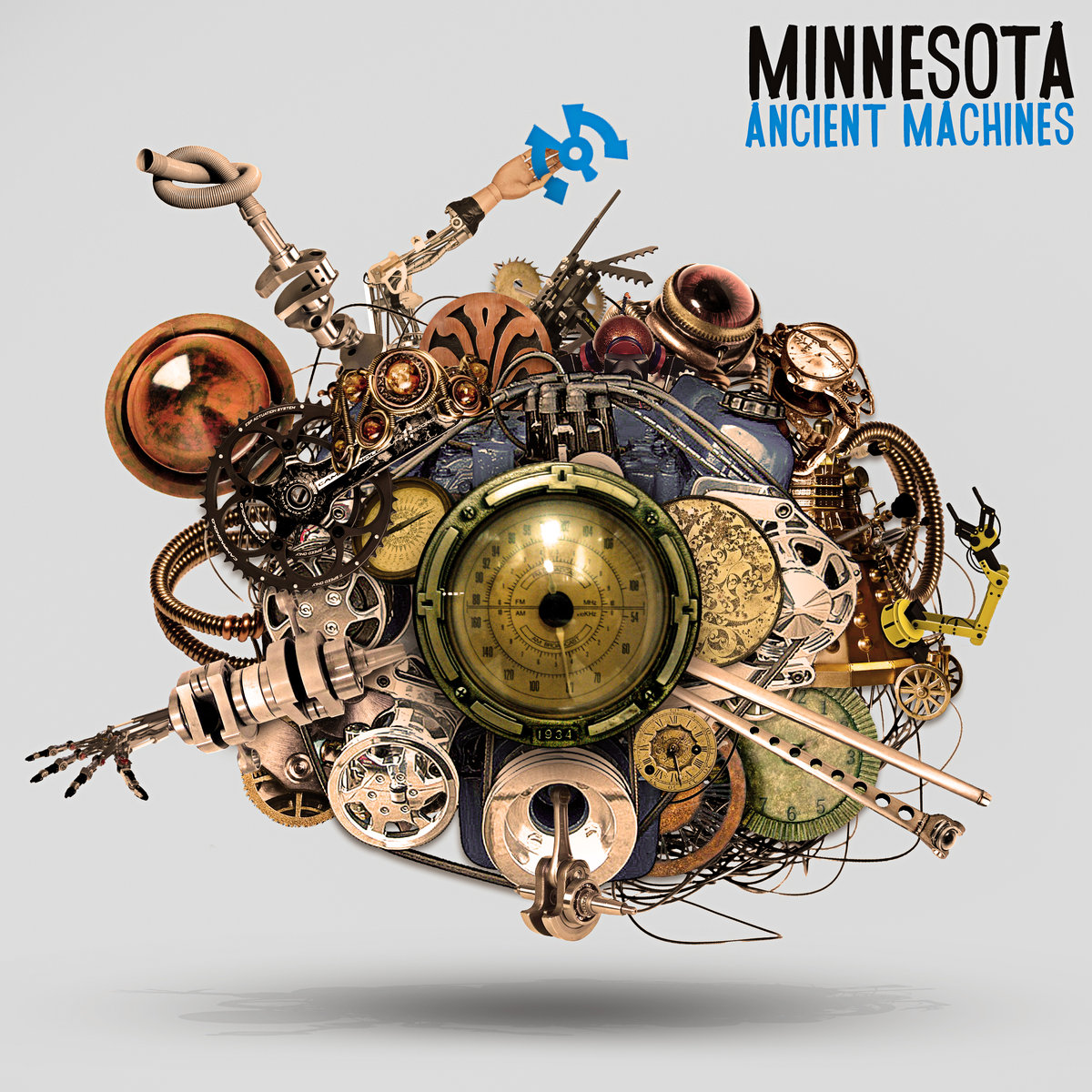 Minnesota - Living Together @ 'Ancient Machines' album (electronic, dubstep)