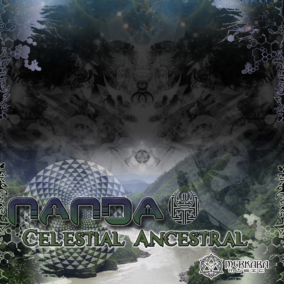 Nanda - Ancestral @ 'Celestial Ancestral' album (electronic, ambient)