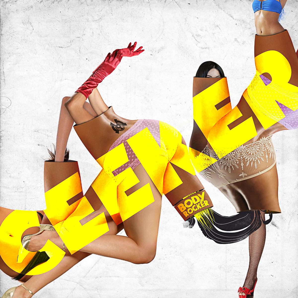 Ceeker - Body Rocker @ 'Body Rocker' album (electronic, dubstep)