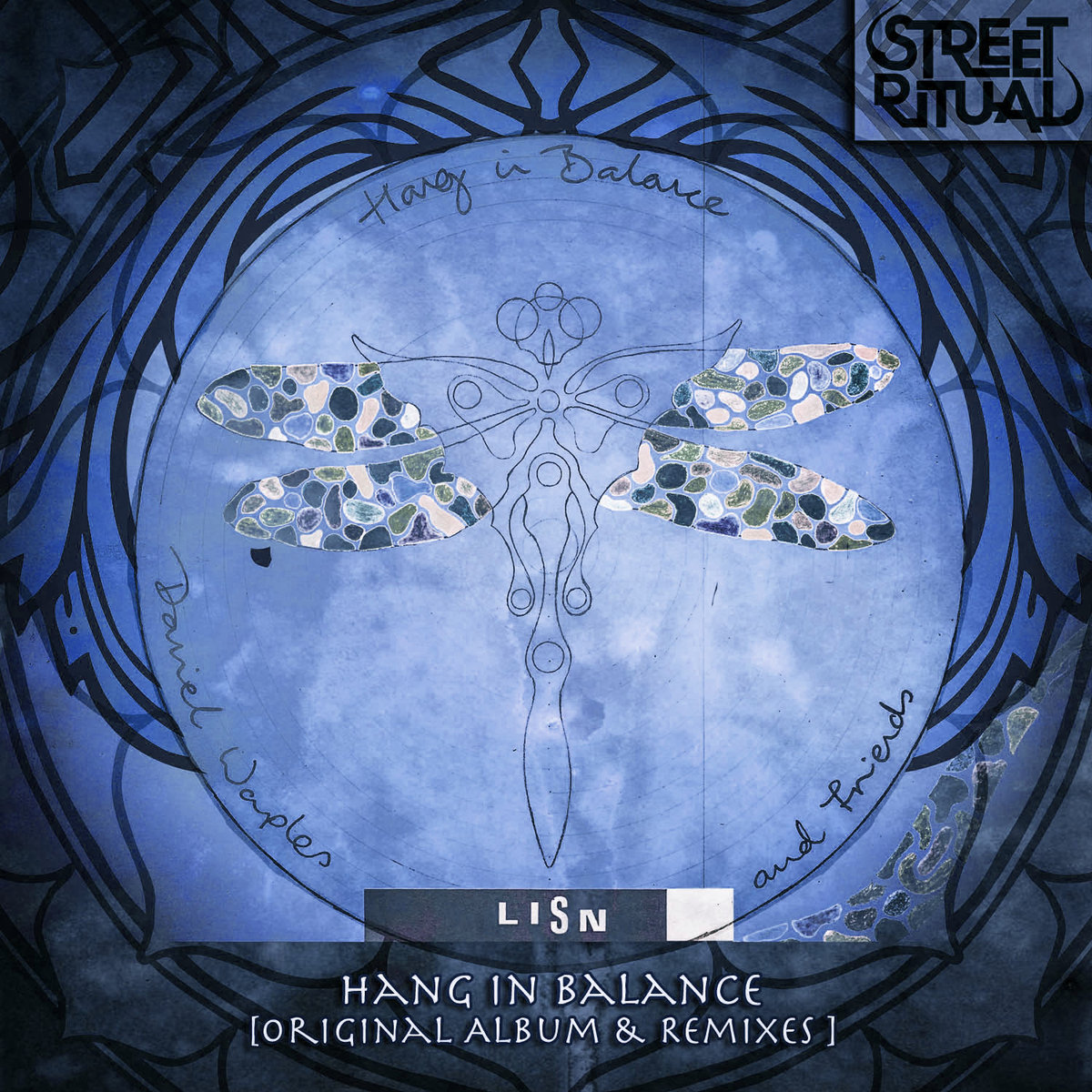 Hang in Balance - Einsof (Gridwork Remix) @ 'Lisn (Remixes & Originals)' album (bass, daniel waples)