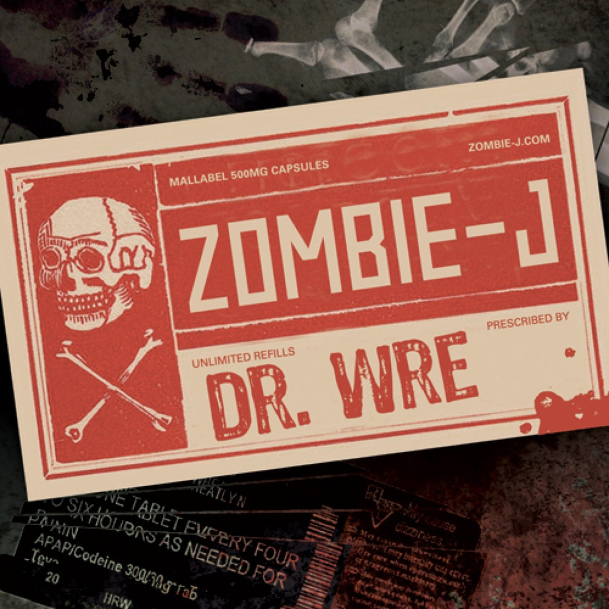 Zombie-J - Dr. Wre (artwork)