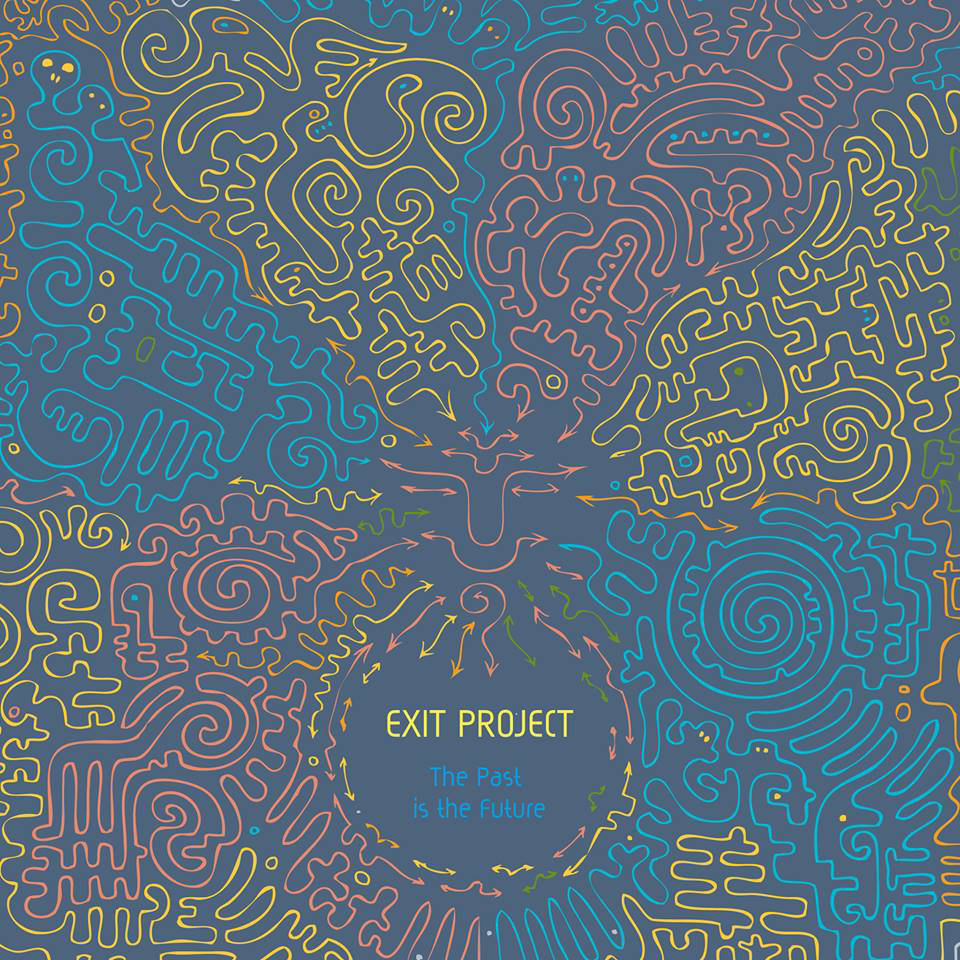 EXIT project - Not Dark, Not Empty, But Nothing @ 'EXIT project - The Past is the Future' album (electronic, ambient)