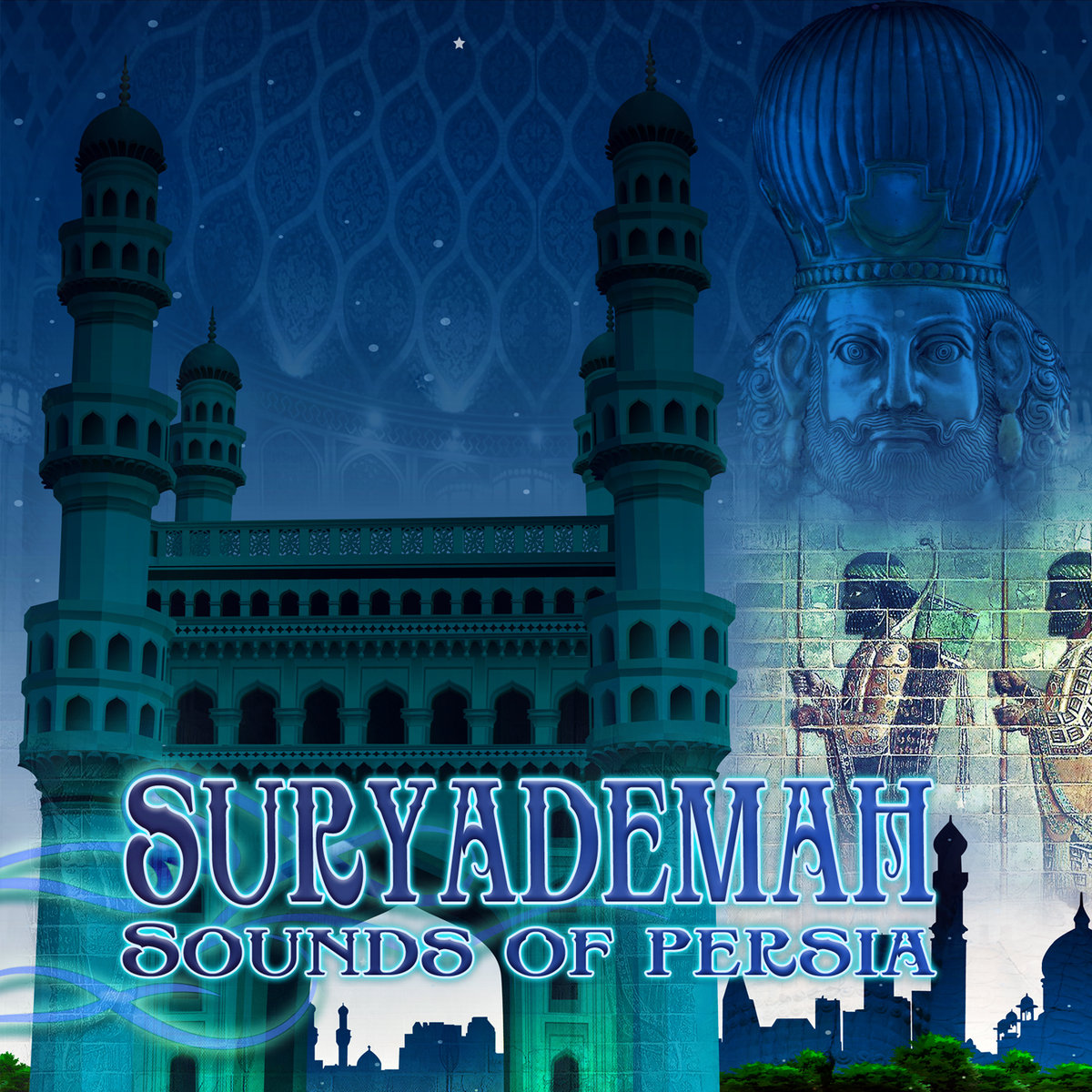 SuryaDemaH - The Whirling Dance @ 'Sounds of Persia' album (electronic, surayedemah)