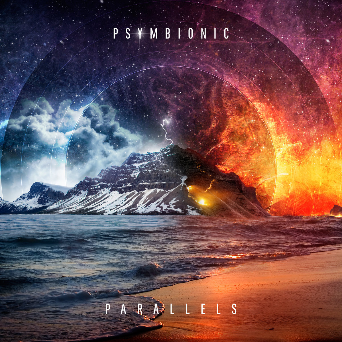 Psymbionic feat. ONE4ALL - Facade @ 'Parallels LP' album (electronic, dubstep)