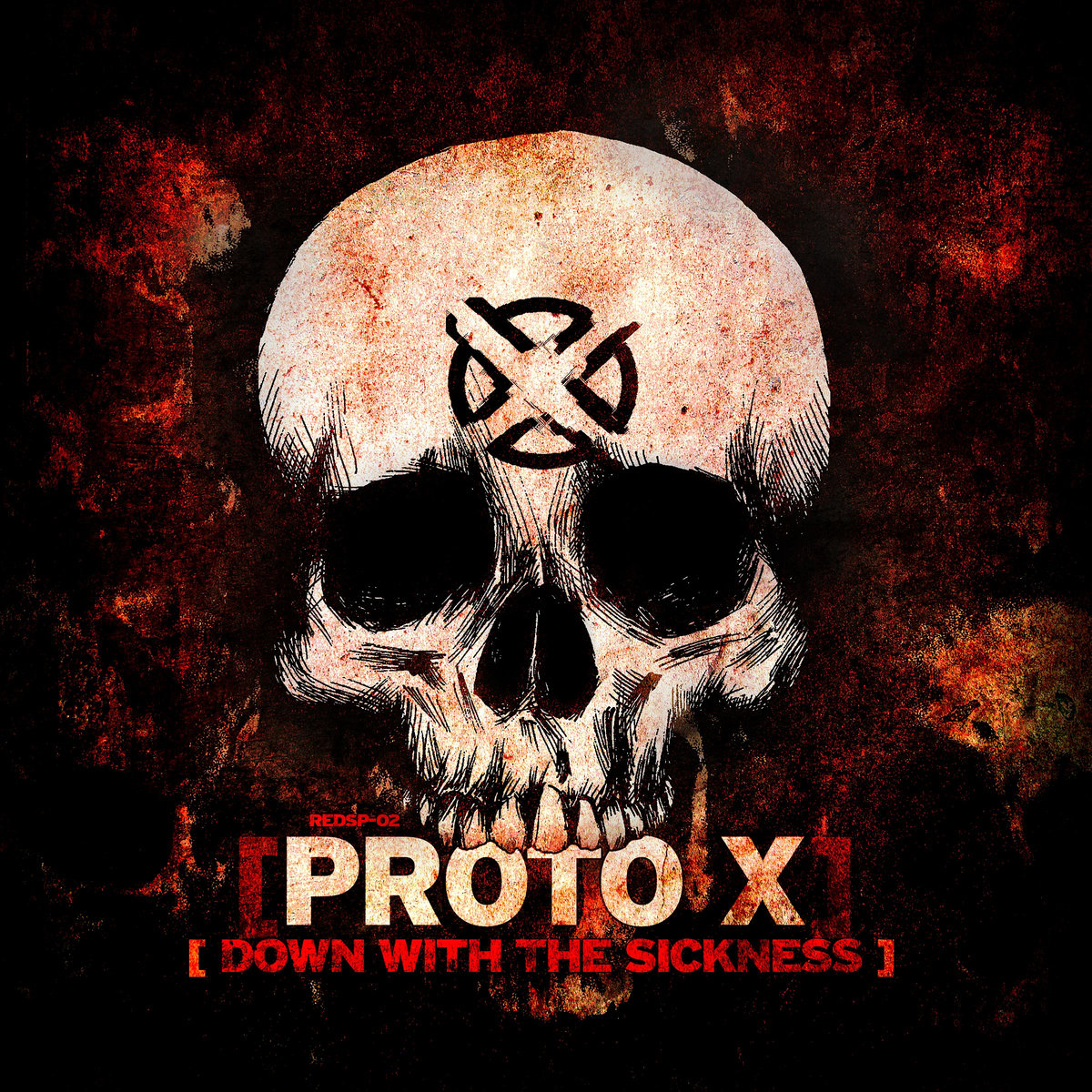 Proto X - Frozen @ 'Down With The Sickness' album (electronic, gabber)