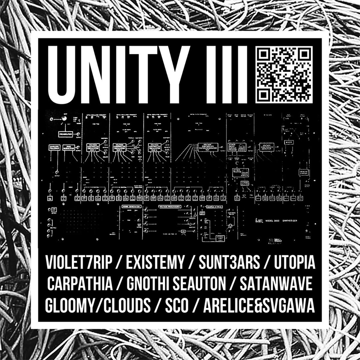 satanwave - Hollow @ 'Various Artists - UNITY III' album (electronic, experimental)